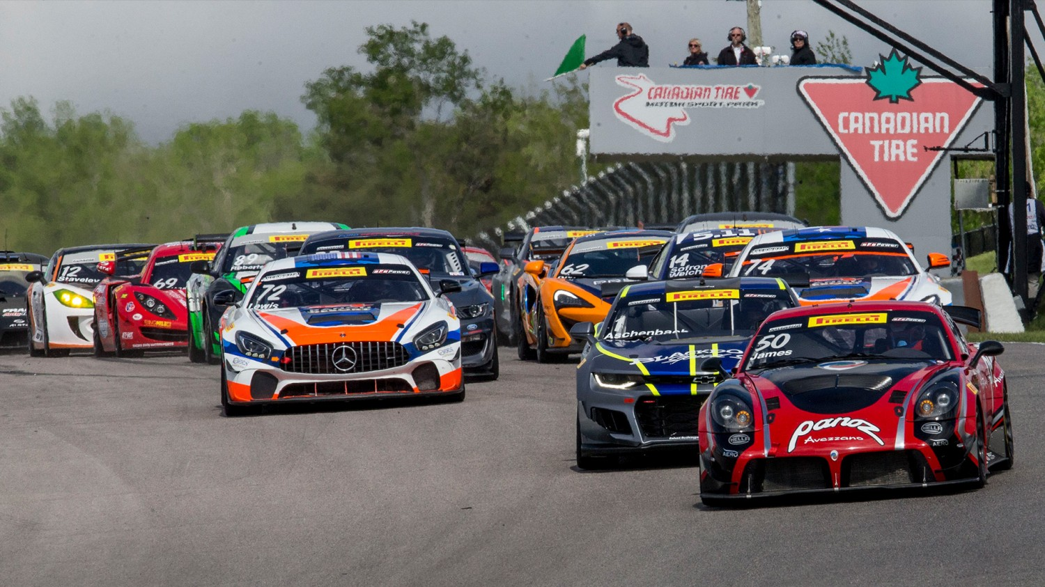 Thirty-one Pirelli GT4 America Sprint, SprintX Entries Set to do Battle at Canadian Tire Motorsport Park