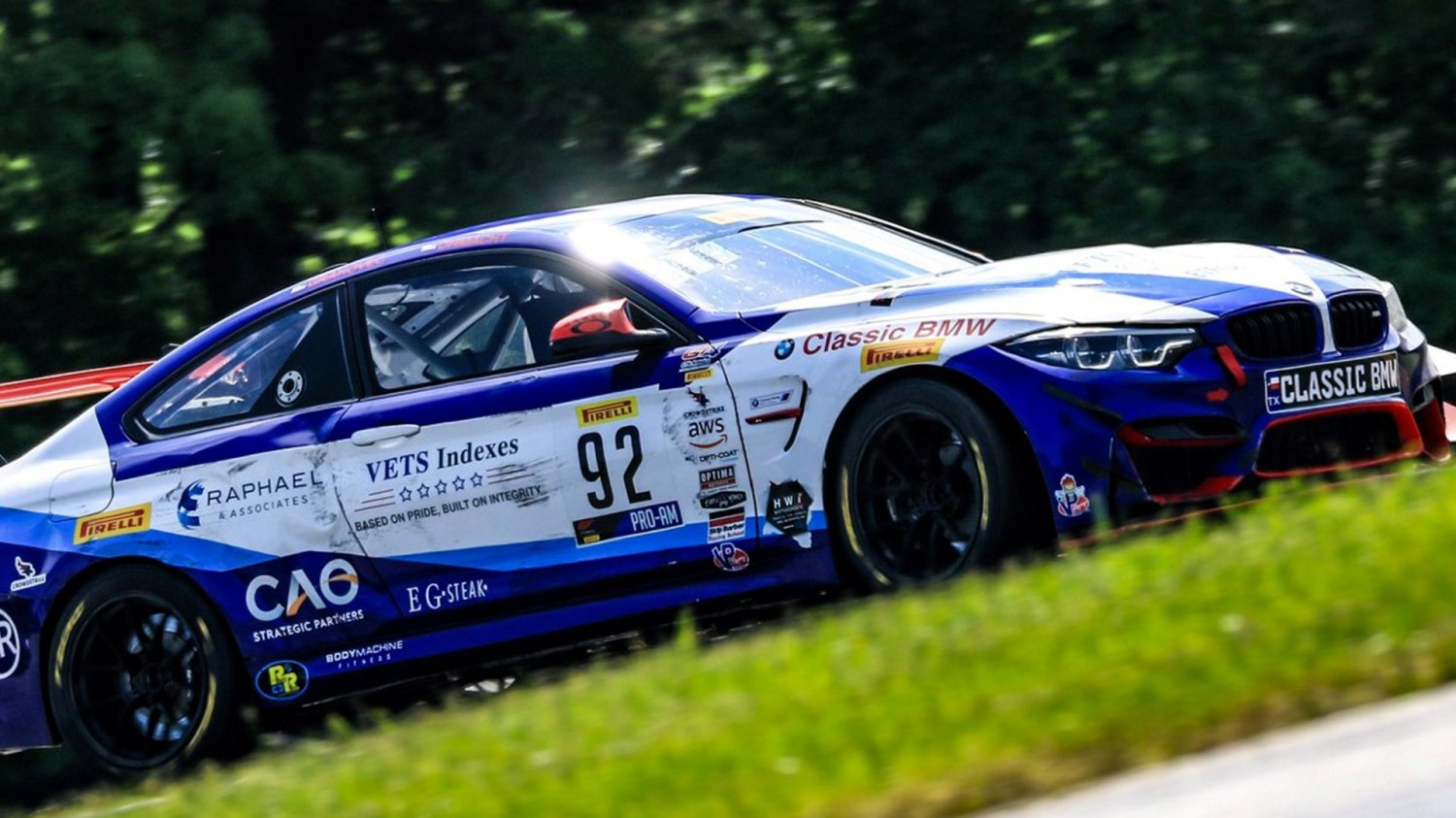 Three Podium Finishes for Fast Track Racing/Classic BMW in