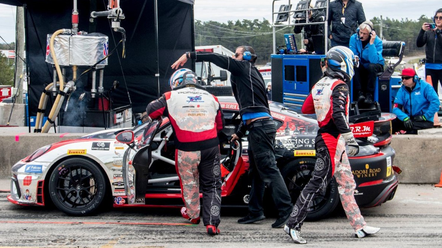 The Racers Group delivers strong performance at Canadian Tire Motorsport Park