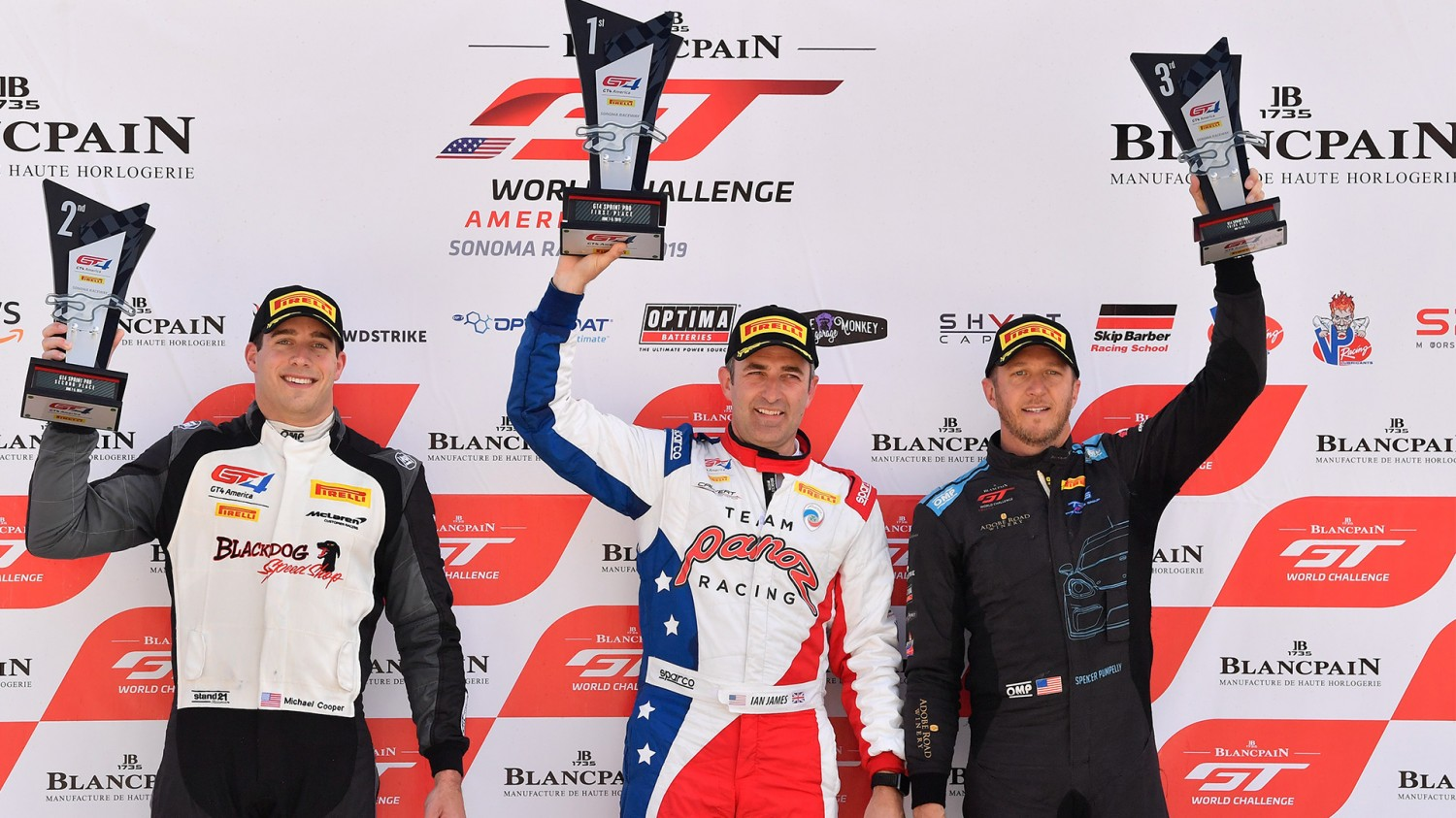 James Controls Race 2 to Win Round 9 of Pirelli GT4 America Sprint Season; Staveley Sweeps In Am