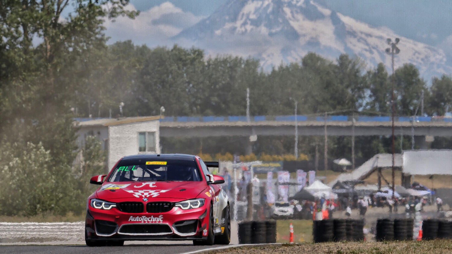 Wilson Posts Quickest GT4 America SprintX Practice 2 Time at Portland