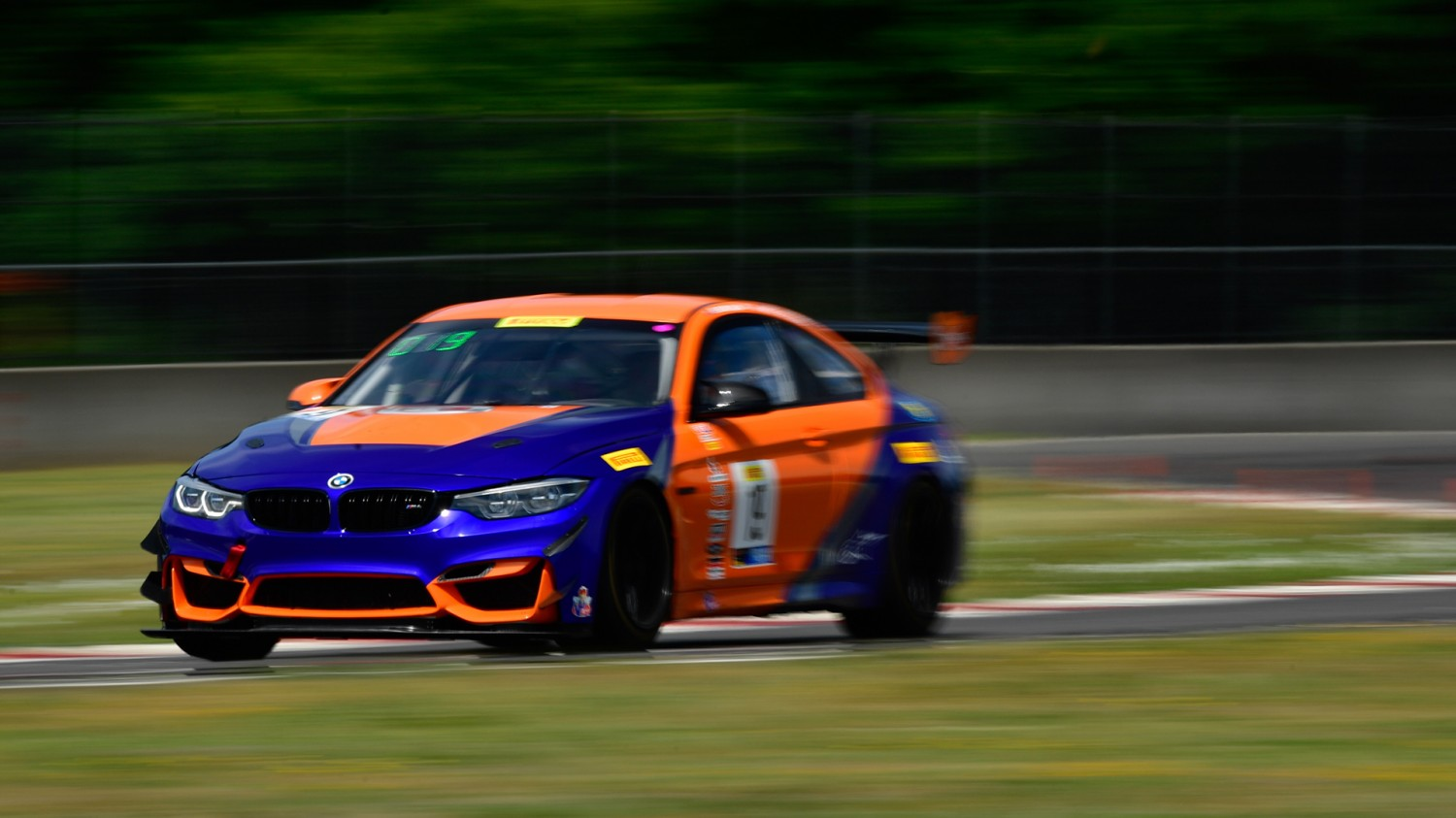 Murillo Posts Quickest GT4 America SprintX Time at Portland