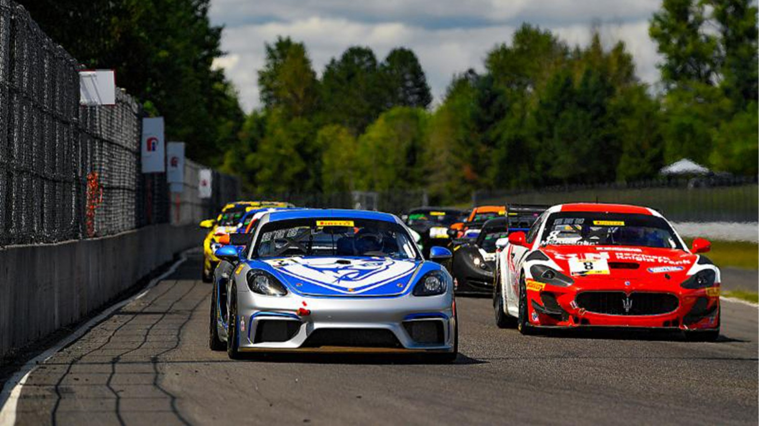 Lizards Get Back to Business at Portland International Raceway