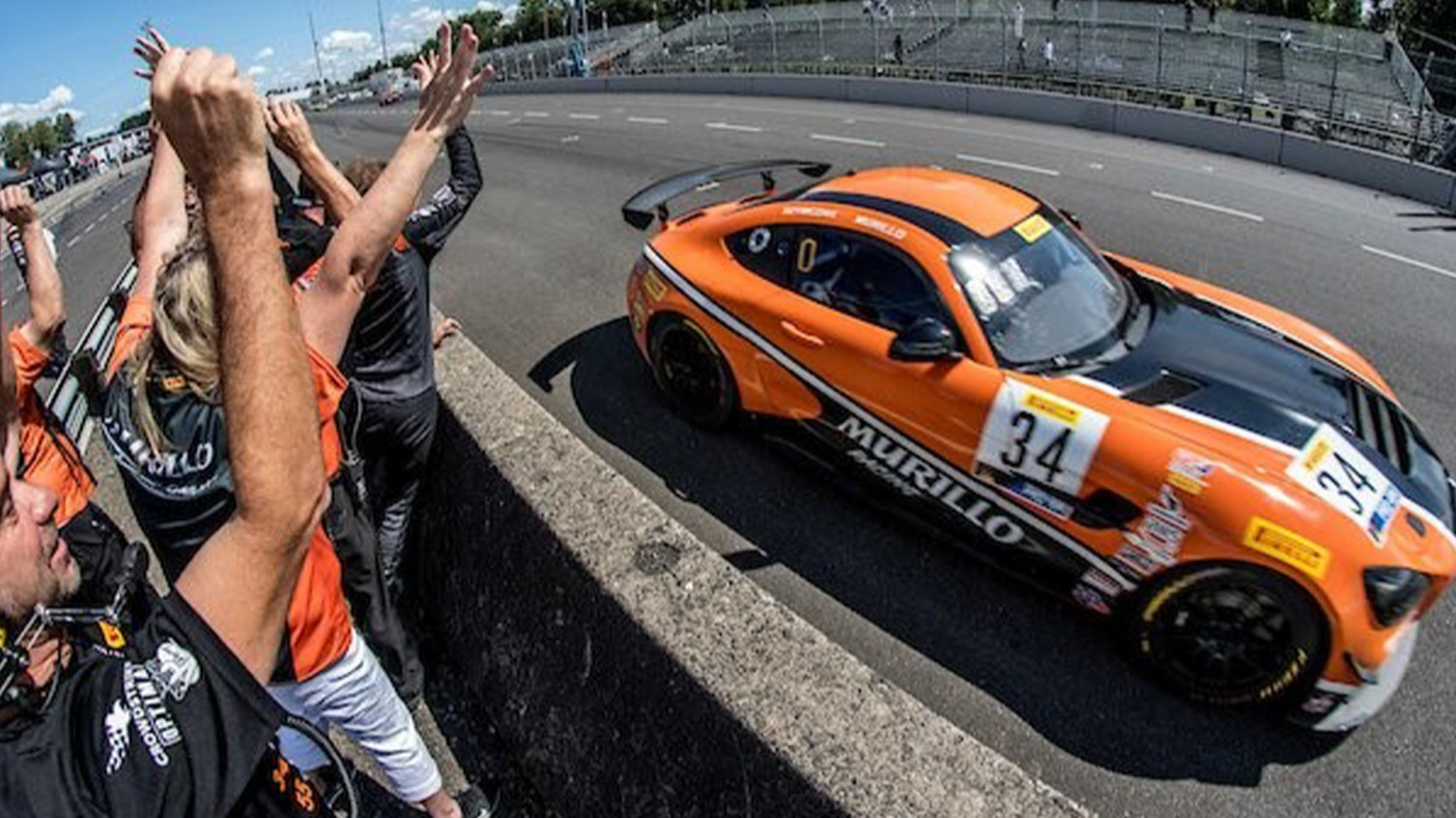 Mercedes-AMG GT4 Secures Fifth Victory of Pirelli GT4 America Season with Murillo Racing at Portland International Raceway