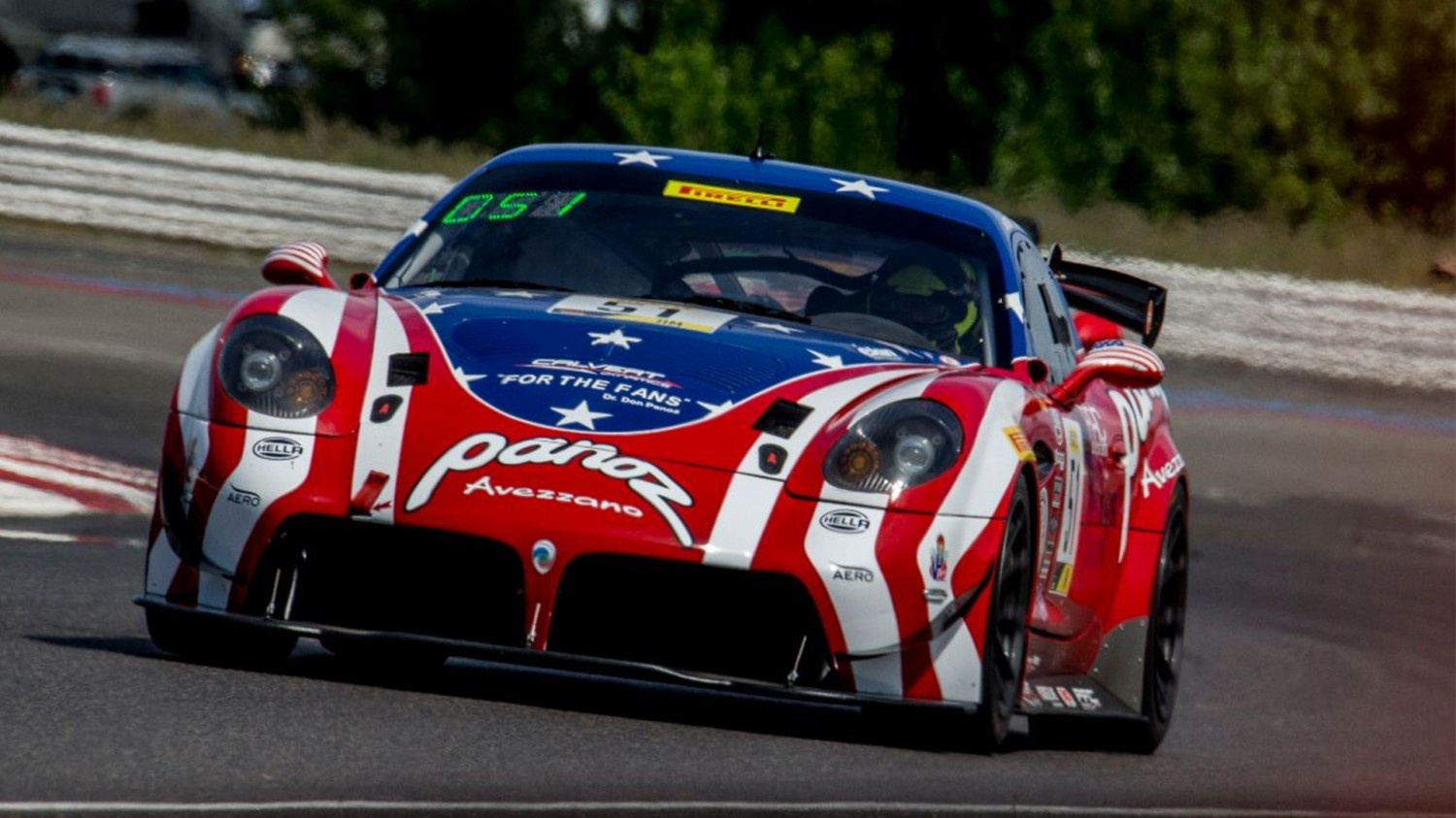 Back-To-Back Wins For Team Panoz Racing At Portland International