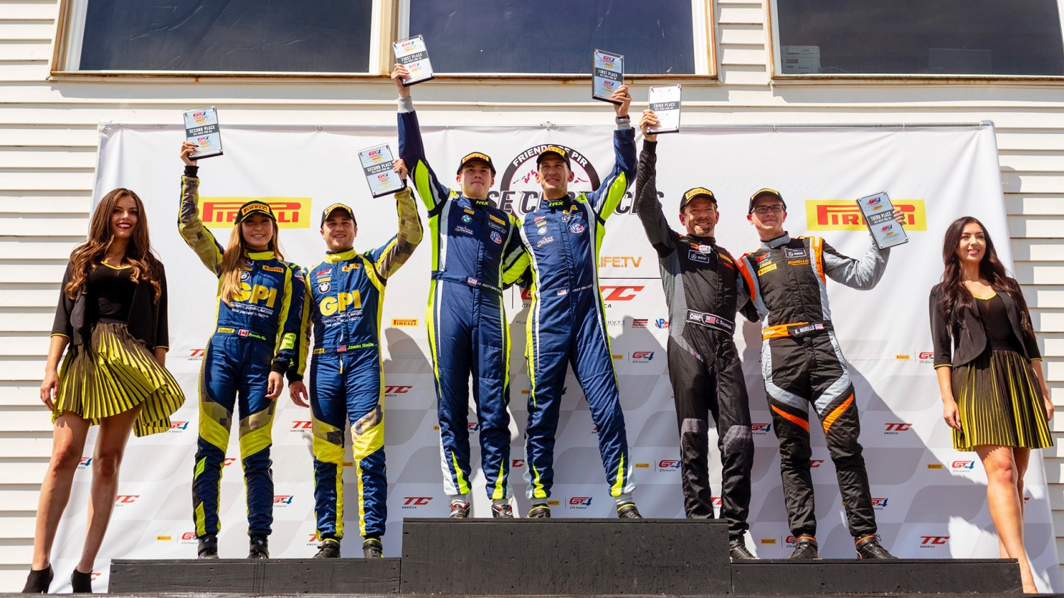 ST RACING CLINCHES THE  GT4 AMERICA WEST CHAMPIONSHIP  AT PORTLAND