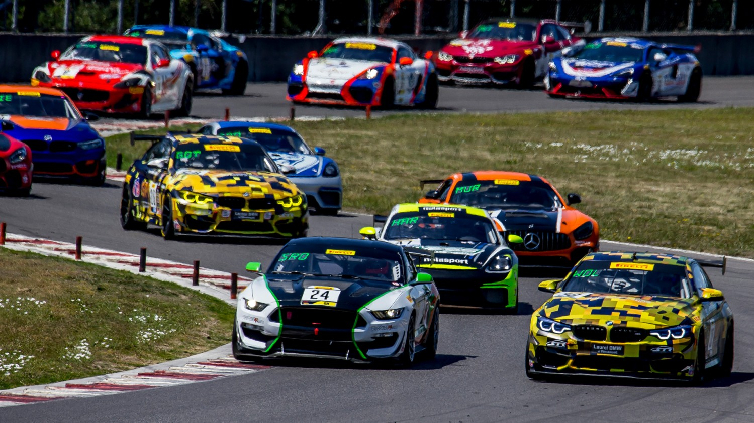 GT4 America Classes Head East to Battle at Watkins Glen