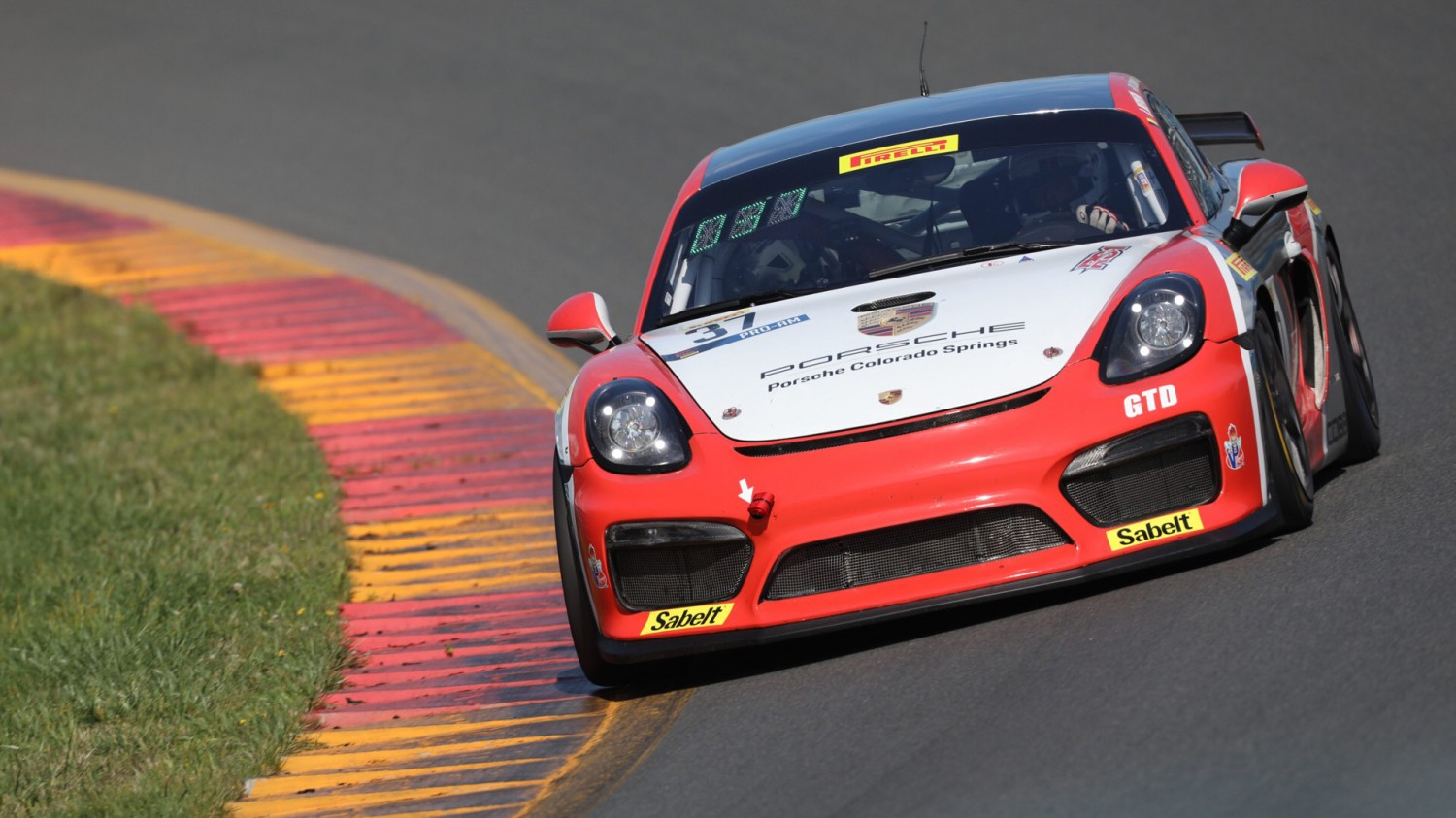 Trio of Porsches on Top of Combined Pirelli GT4 America Practice Session 1