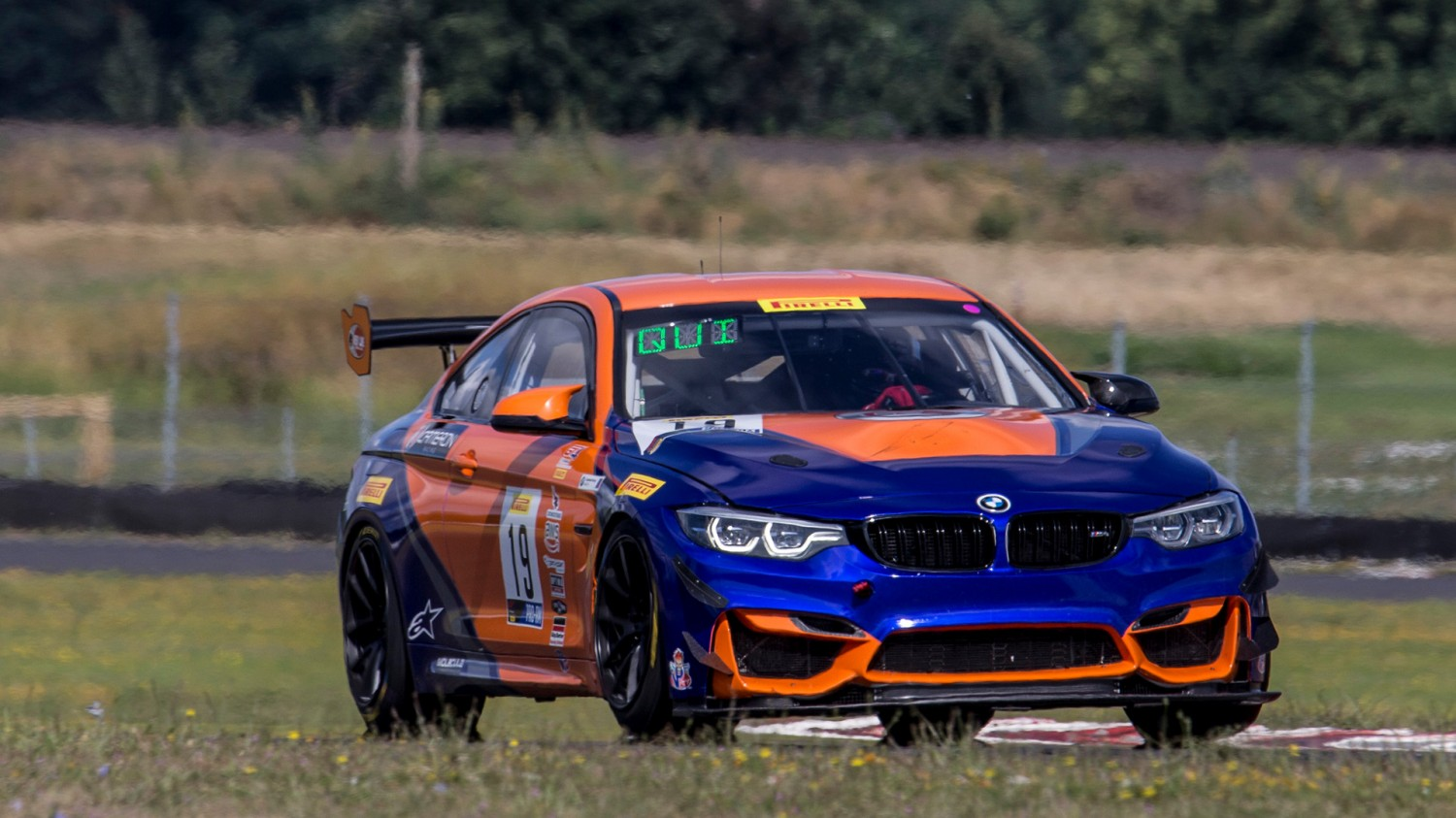 Leifooghe/Quinlan Take Action-Packed GT4 America SprintX Race 1 Win at WGI