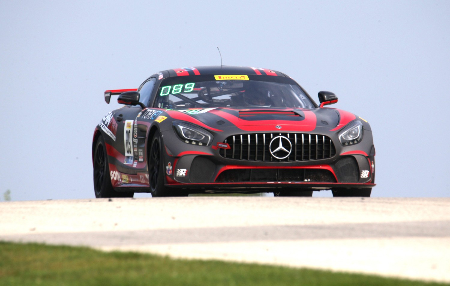 Patrick Byrne Leads Final Pirelli GT4 America Practice Session at America's National Park of Speed, Road America