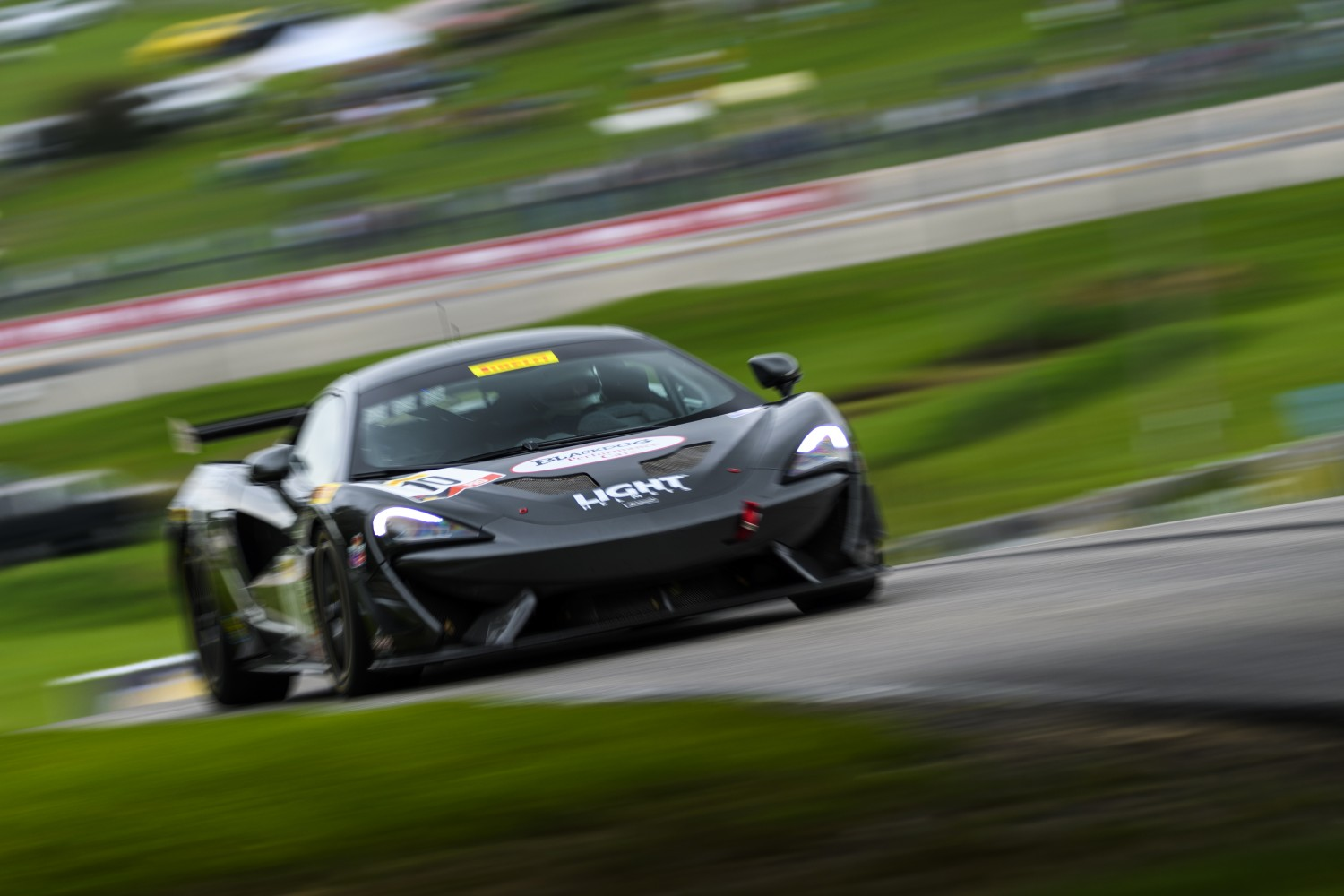 Cooper Wins Rain-shortened Pirelli GT4 America Sprint Race 2 at Road America