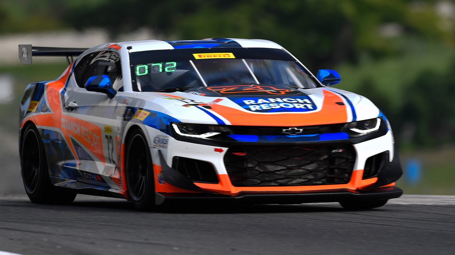 Shane Lewis takes Pirelli GT4 America Sprint Race 1 Pole at Road America