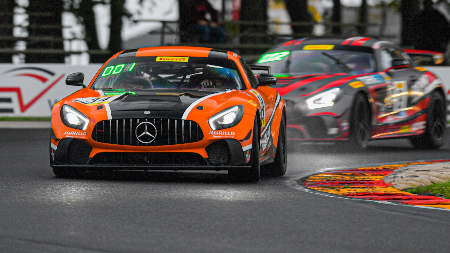 Murillo Racing Wins Caution-filled Pirelli GT4 America SprintX Race 1 at Road America