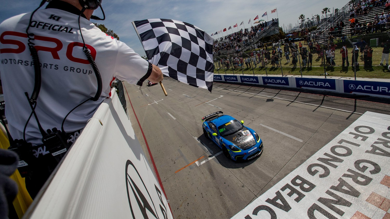 Pumpelly Wins Exciting Round at Streets of Long Beach
