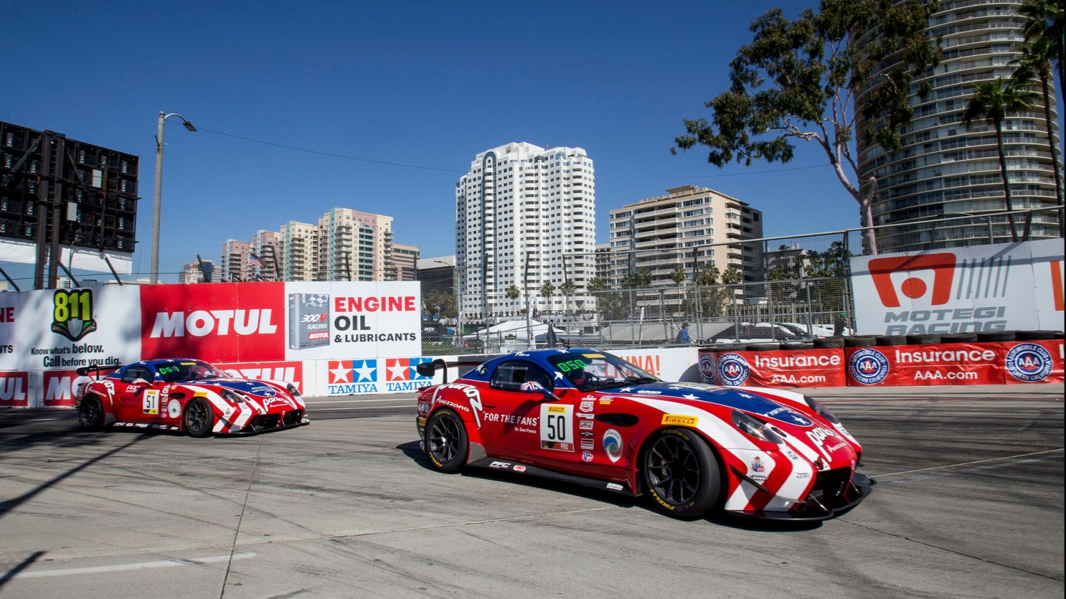 Team Panoz Racing Returns to the Podium in Long Beach Debut