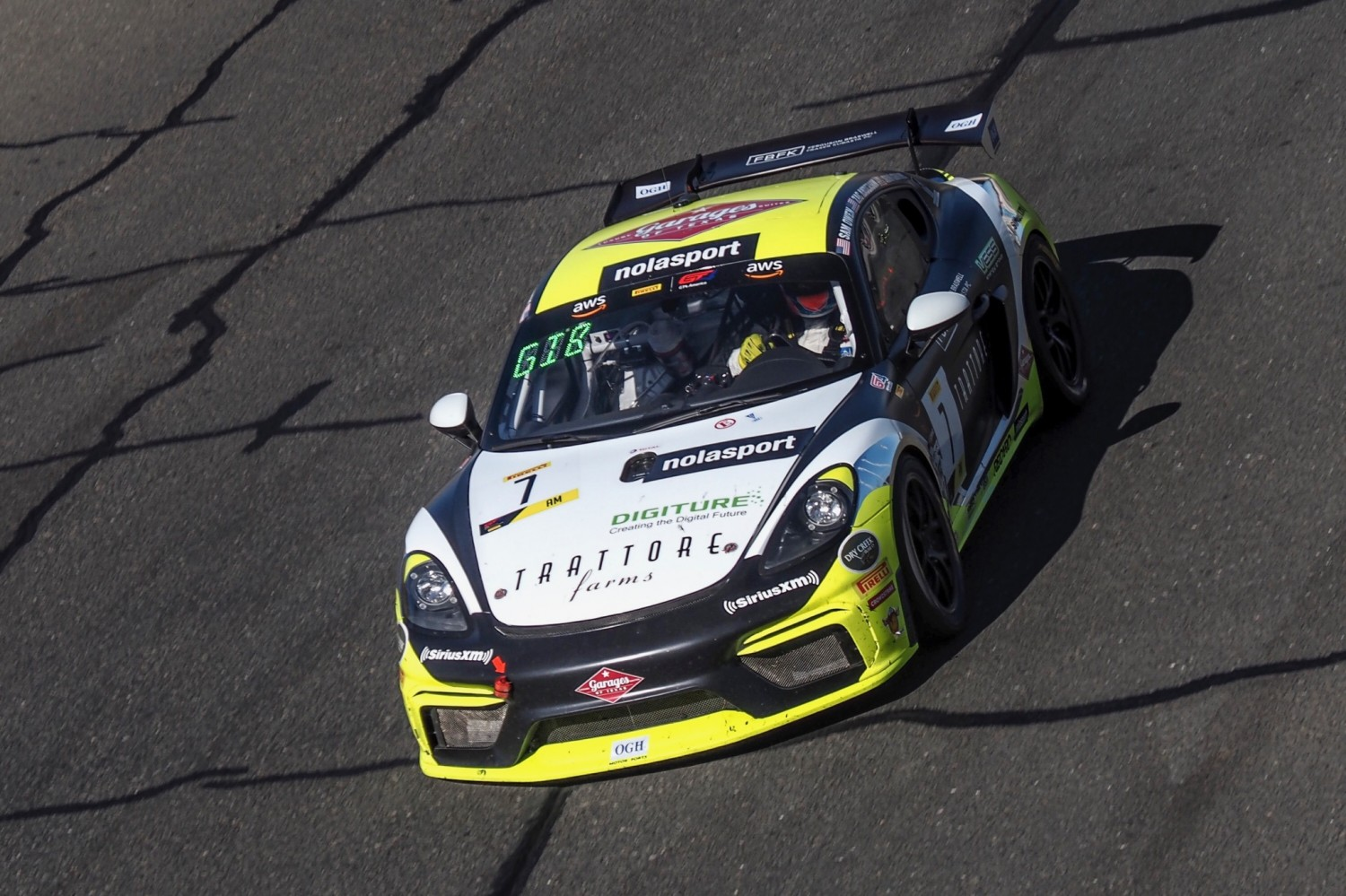 NOLASPORT On Top of Pirelli GT4 America SprintX Field For Race 1 At Sonoma