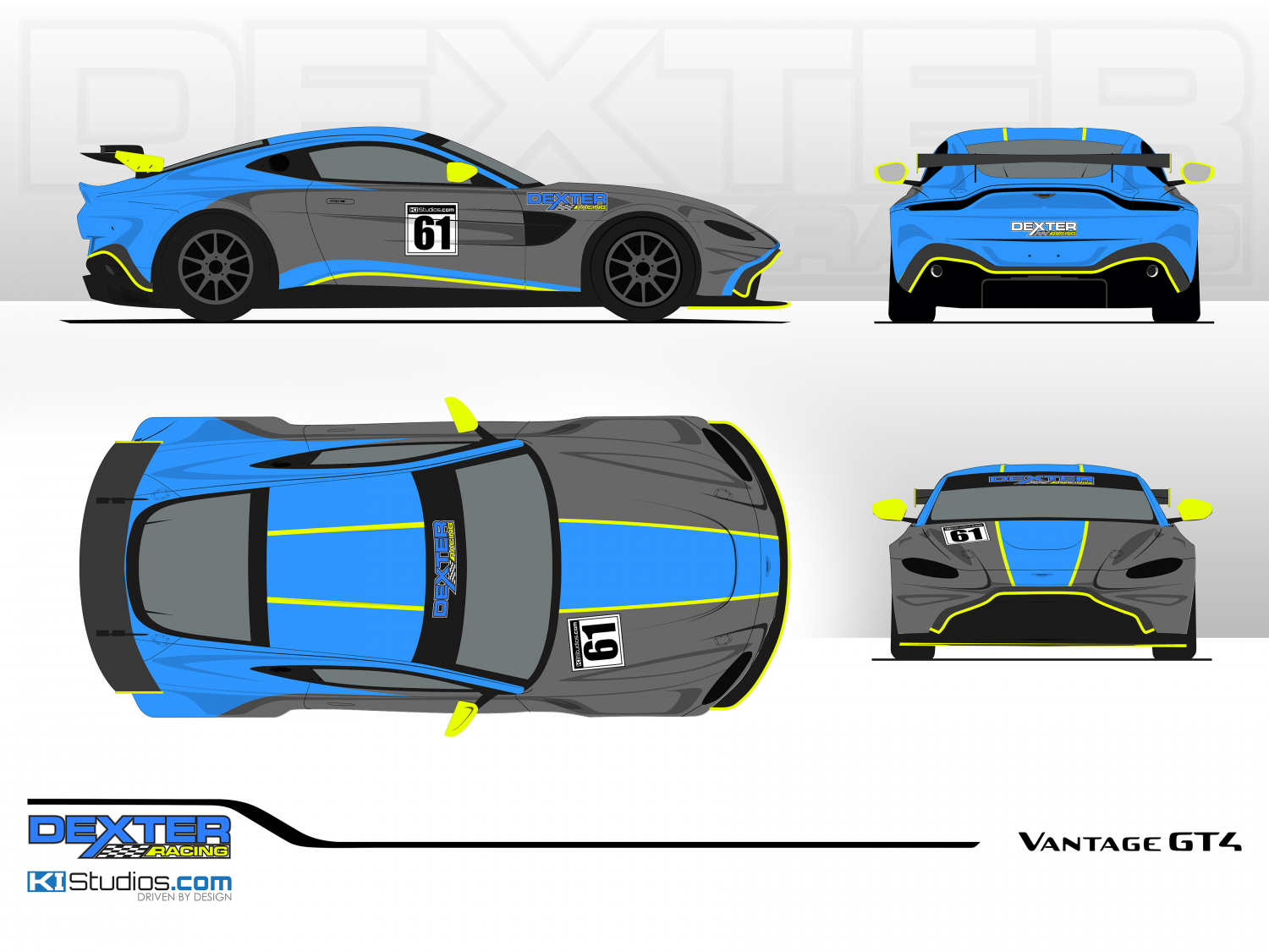 Dexter Racing Add New Aston Martin Vantage Gt4 For 2021 Competition Gt4 America