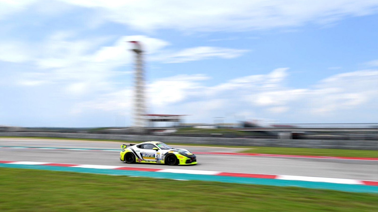 Hart Fastest in Combined Sprint/SprintX Practice 2 at COTA