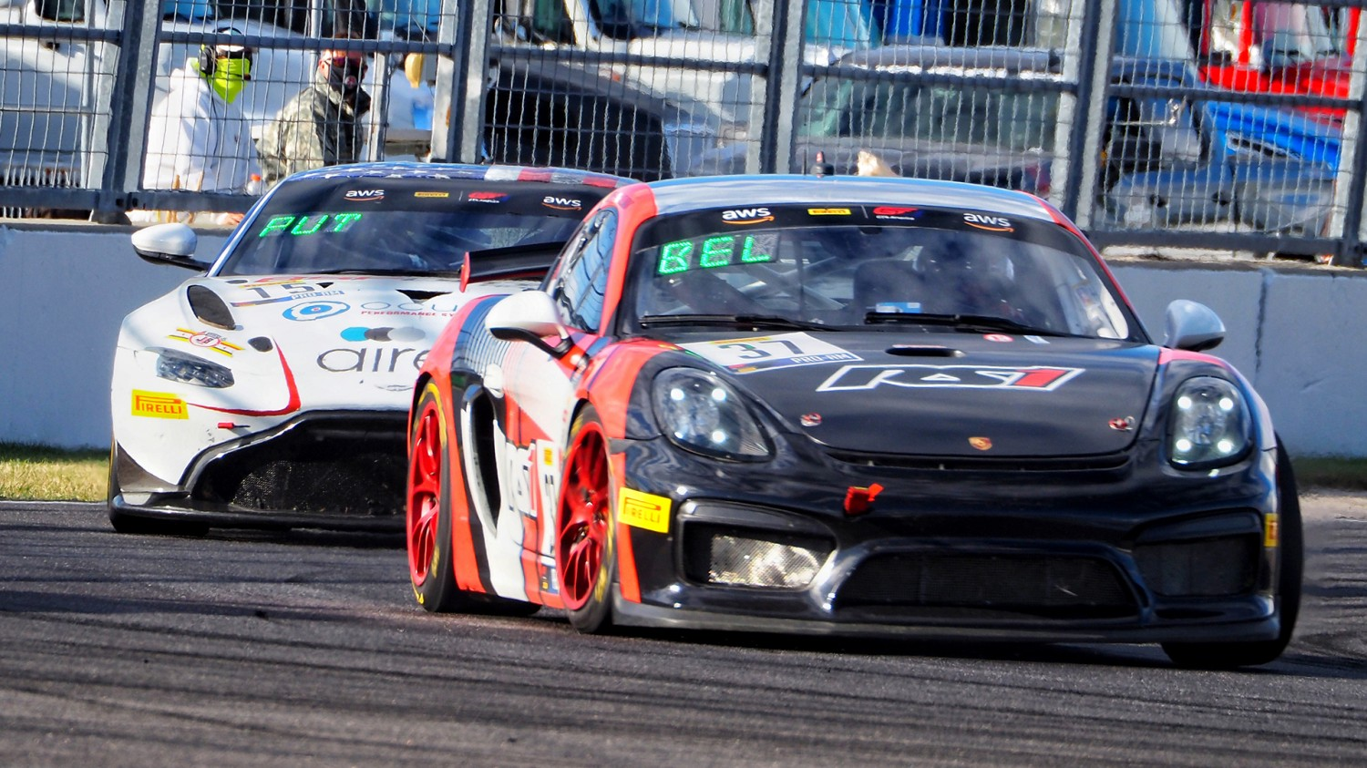 Heylen/Belluardo Take RS1 To The Top In Exciting Pirelli GT4 America SprintX Race 1 at IMS