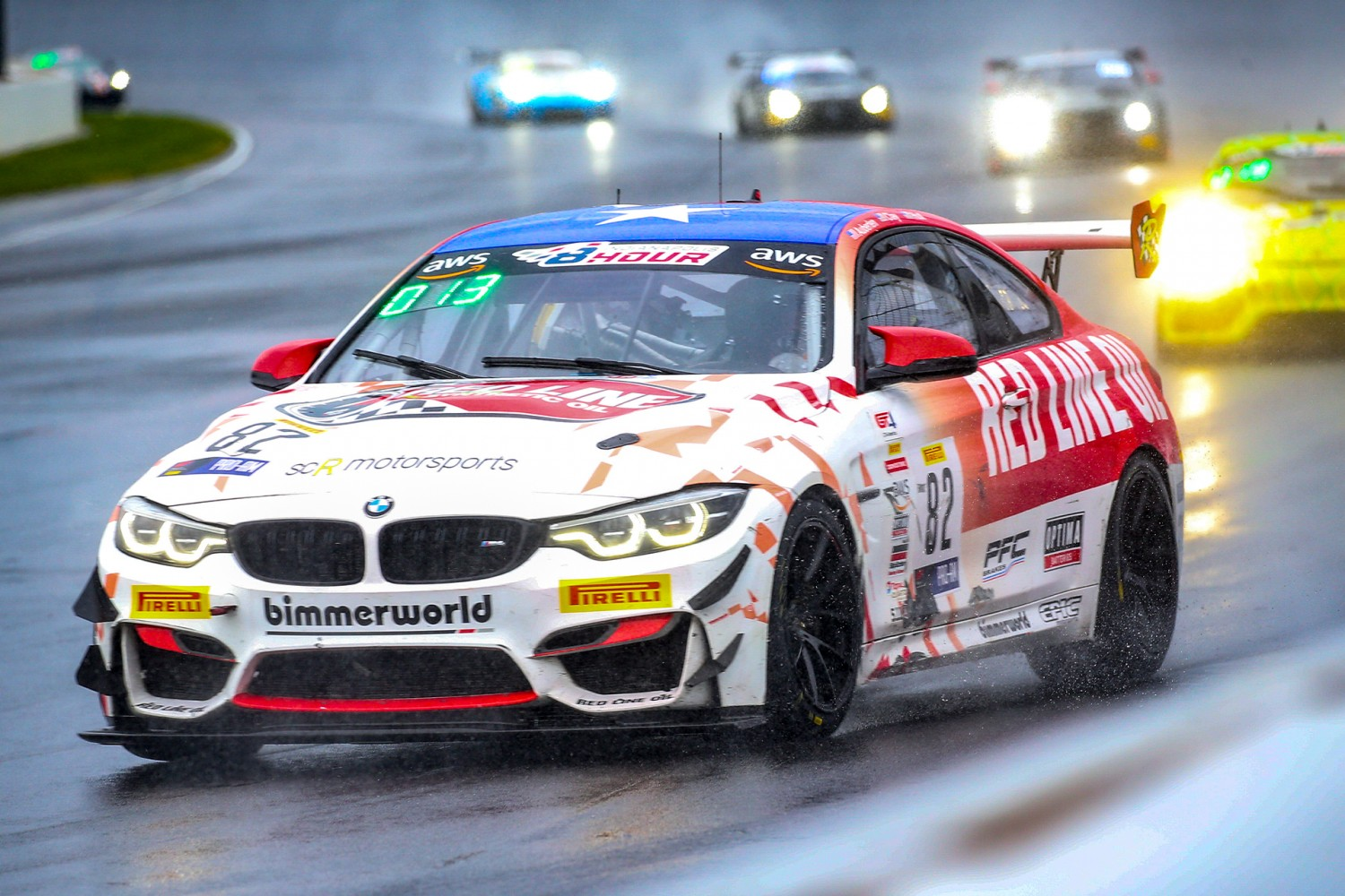BimmerWorld Racing Wins GT4 Indianapolis 8 Hour Race at the Brickyard
