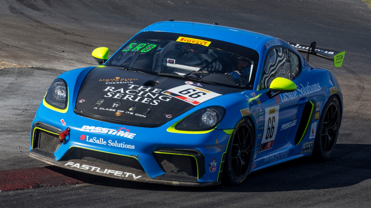 Pumpelly Nabs Pole for Pirelli GT4 America Sprint Race 1 at Las Vegas Motor Speedway