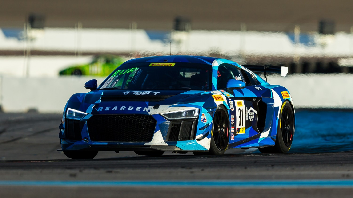 Burton, Kozarov Secure SprintX West Am Championship with 9th Win in Rearden Racing Audi R8