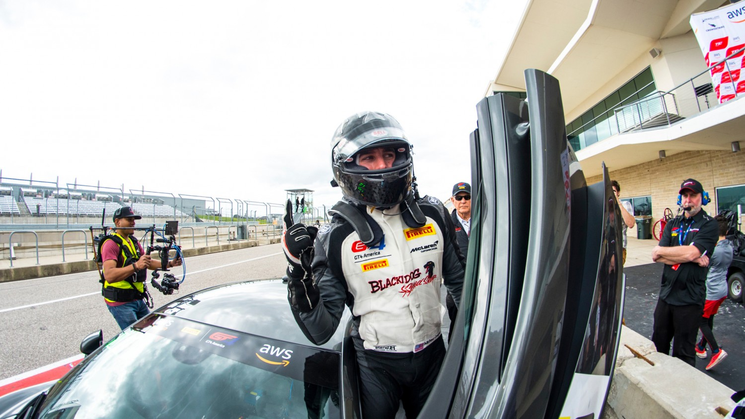 Blackdog Speed Shop, Cooper Claim Victory at COTA