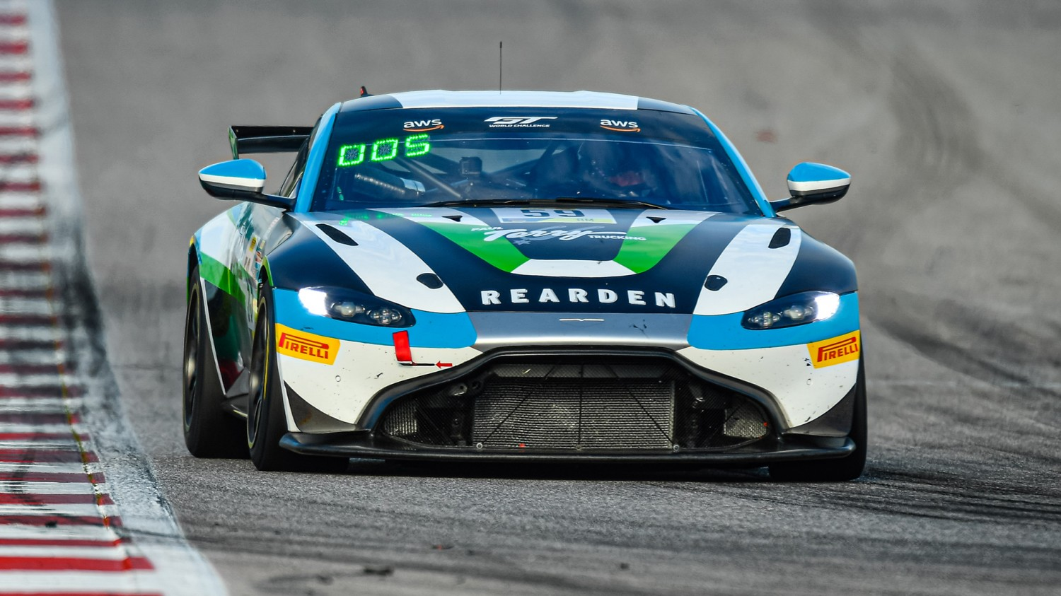 Paul Terry, Rearden Racing Score 1st and 2nd in Pirelli GT4 America AM Sprint Races