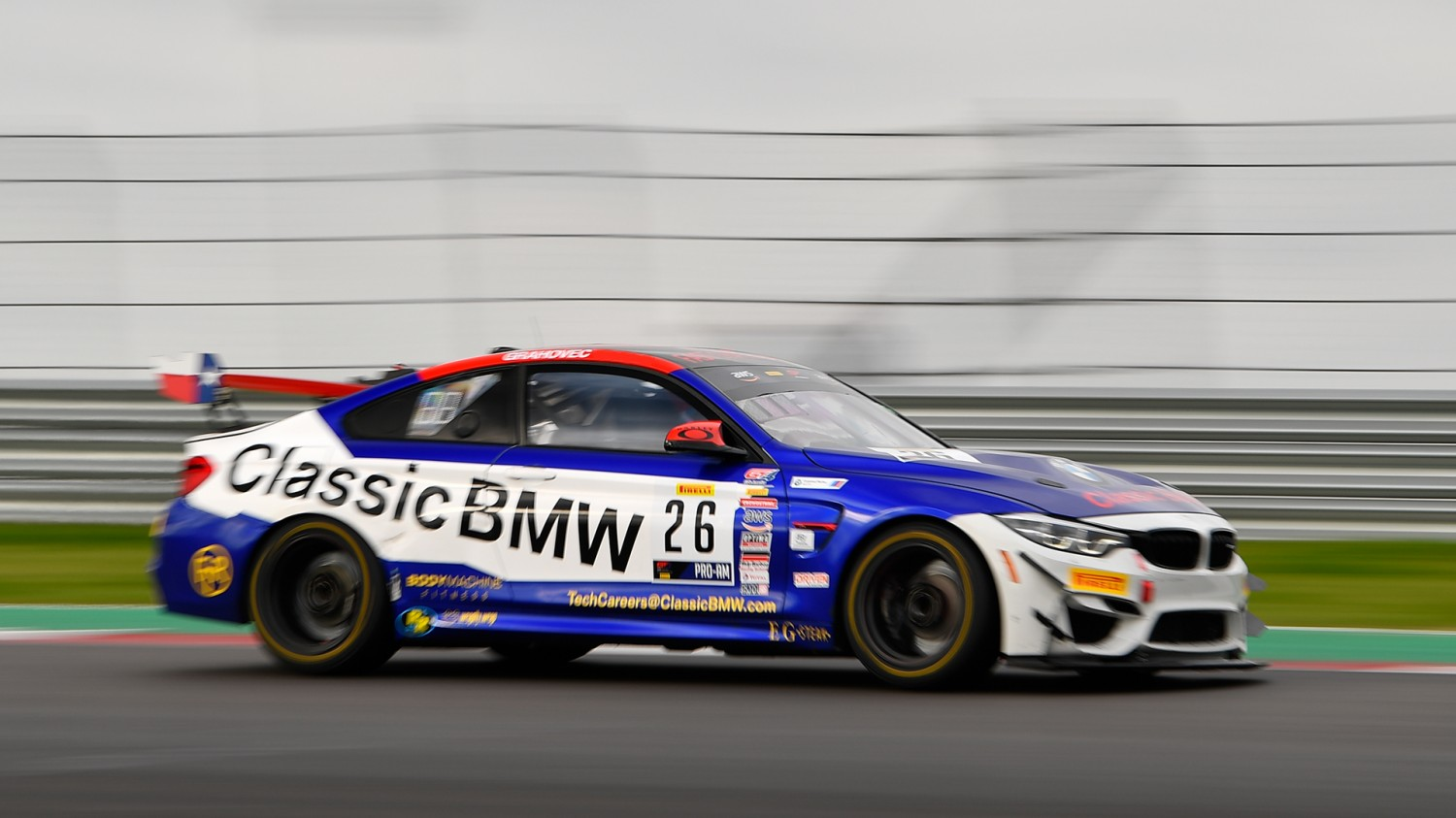 Veteran Toby Grahovec, Young Chandler Hull Team Up This Weekend For Fast Track Racing/Classic BMW.com Squad in SRO SprintX at VIR