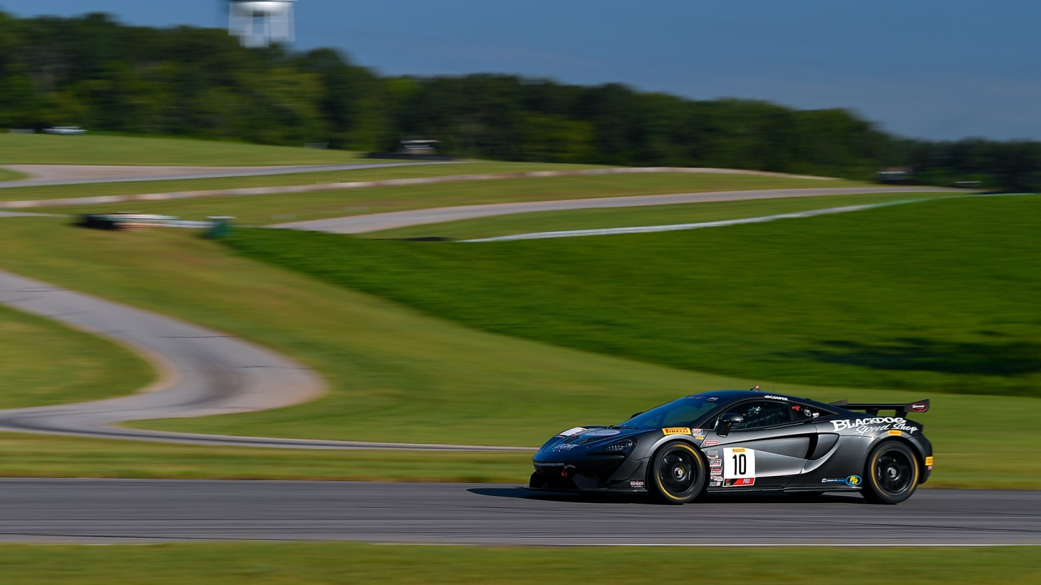 Cooper Recovers to Win Pirelli GT4 America Sprint Race 2 at VIR