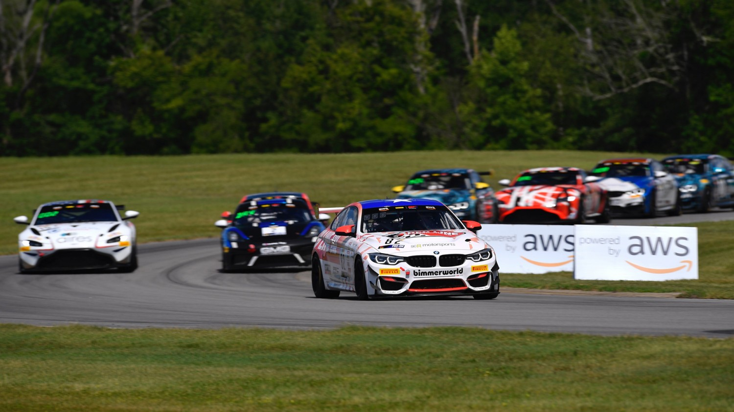 Auberlen/Walker Dominate Pirelli GT4 America SprintX Race 2 from VIR