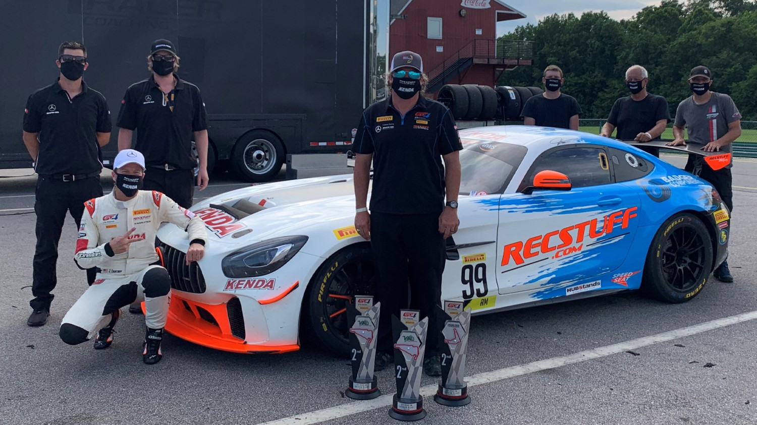 Courtney, RecStuff Racing Back in Action at VIR with Three Runner-up Finishes and Fastest Laps