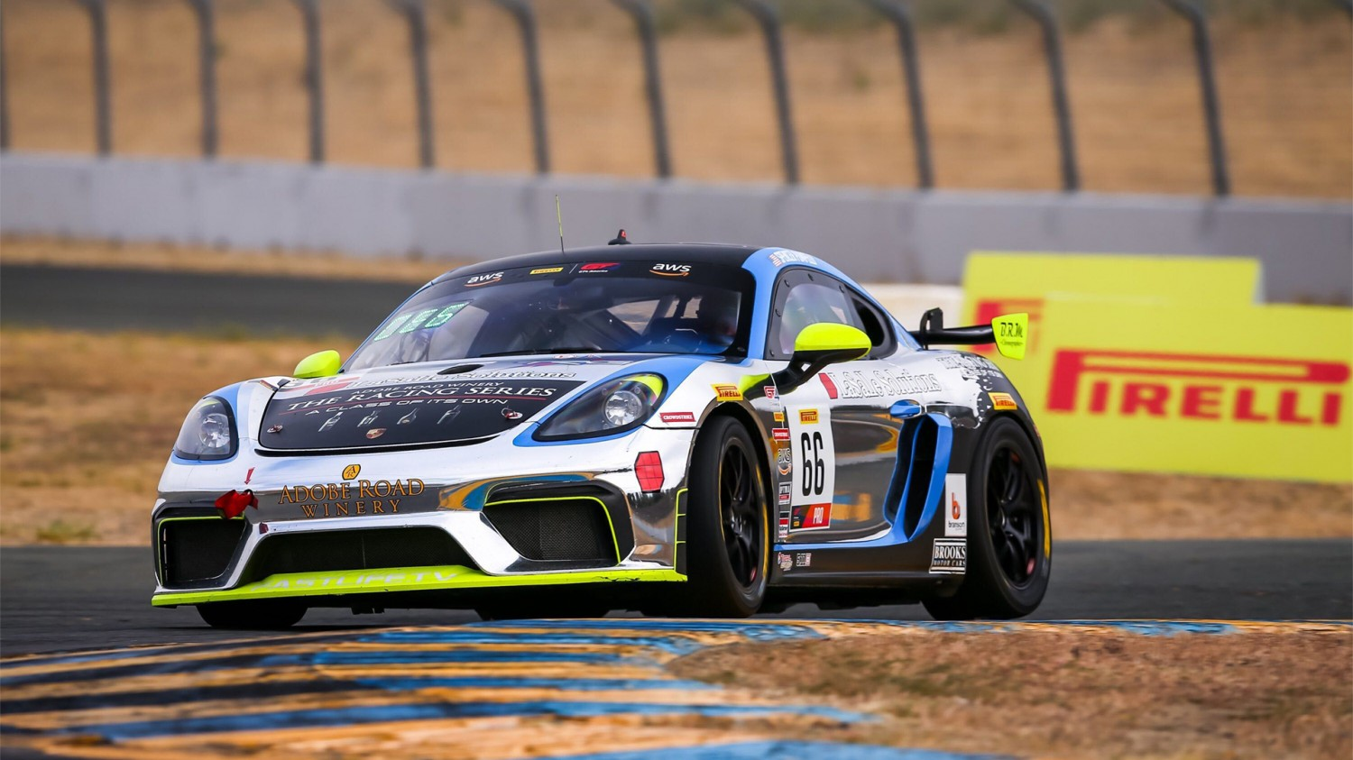 Pumpelly Flies To Pole For Pirelli GT4 America Sprint Race 1 At Sonoma Raceway