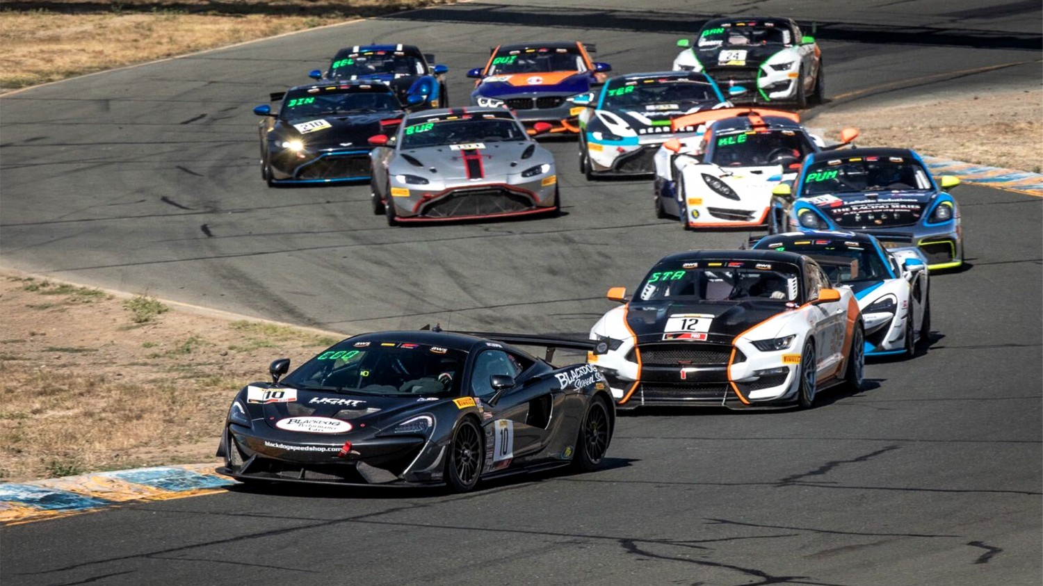 Cooper Sweeps Pirelli GT4 America Sprint Weekend in Wine Country