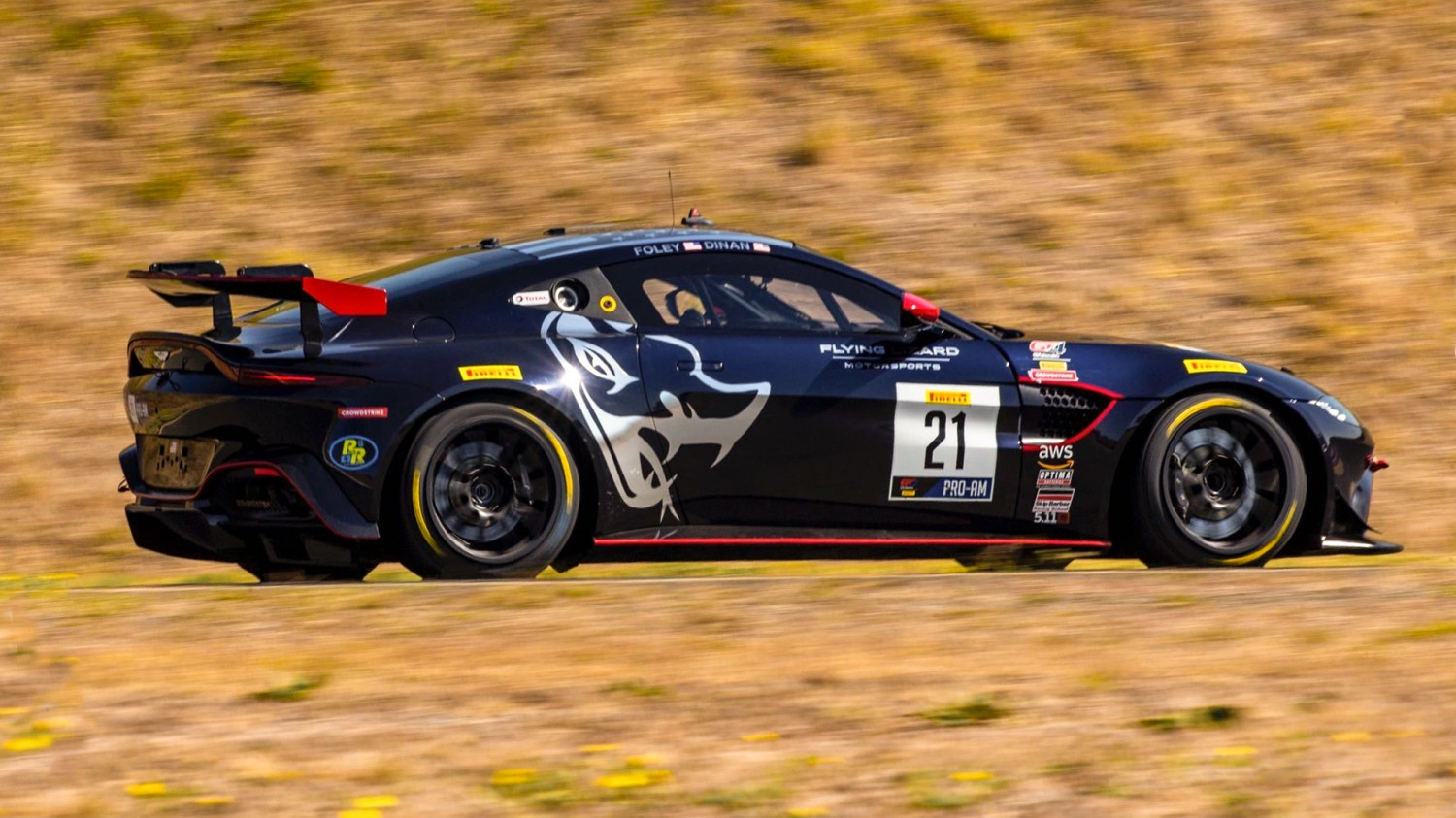 Foley, Dinan Dominant in Home Win for Flying Lizard Motorsports at Sonoma Raceway