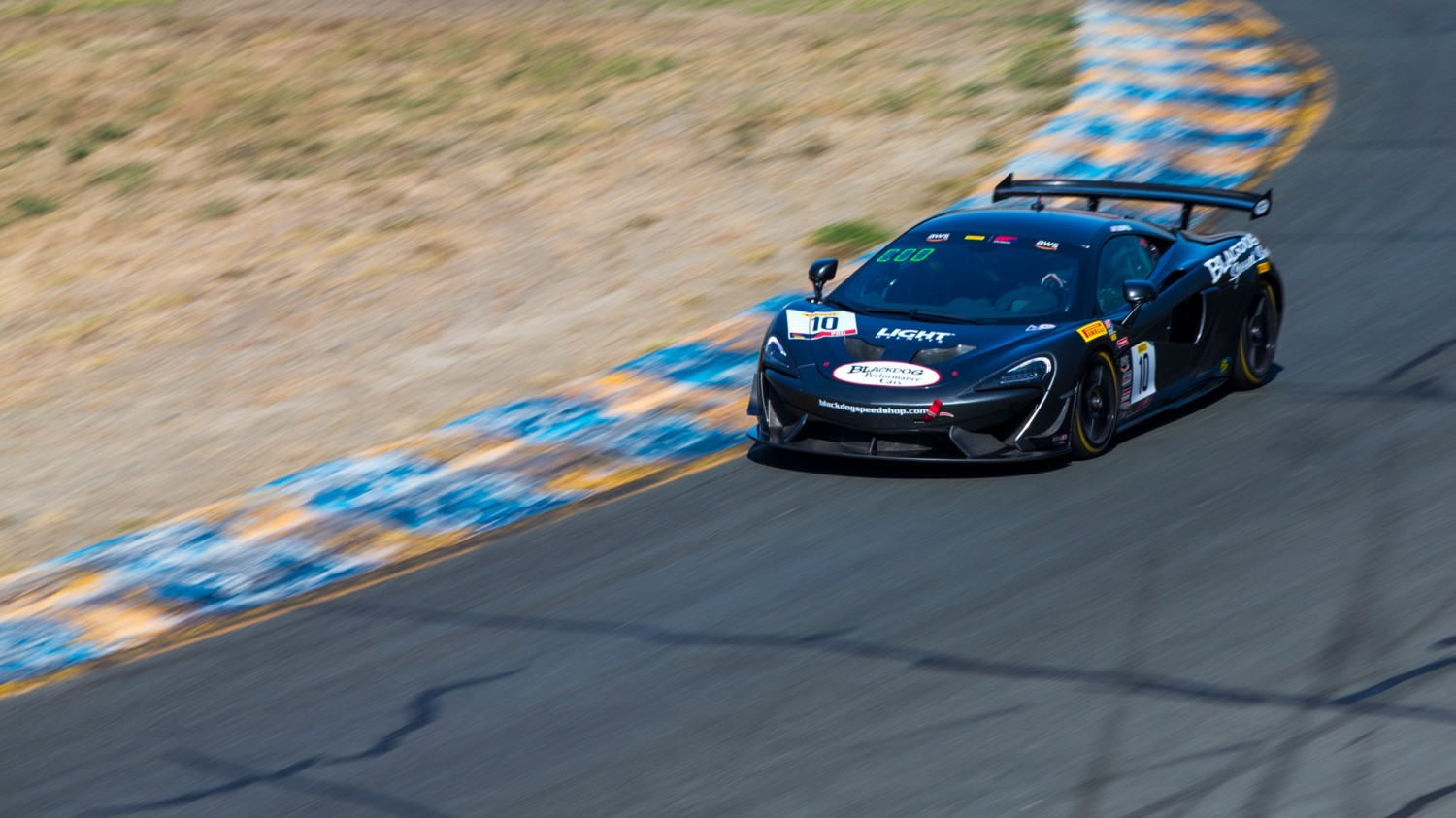 BREAK OUT THE BROOMS: Blackdog, Cooper Score Sweep Sonoma GT4 Sprint