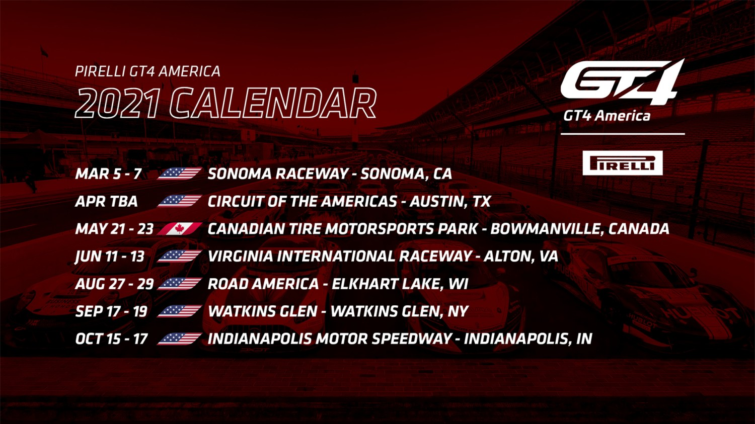 A Return to the Roots of GT Sprint Racing in North America, SRO America Announces GT America for 2021