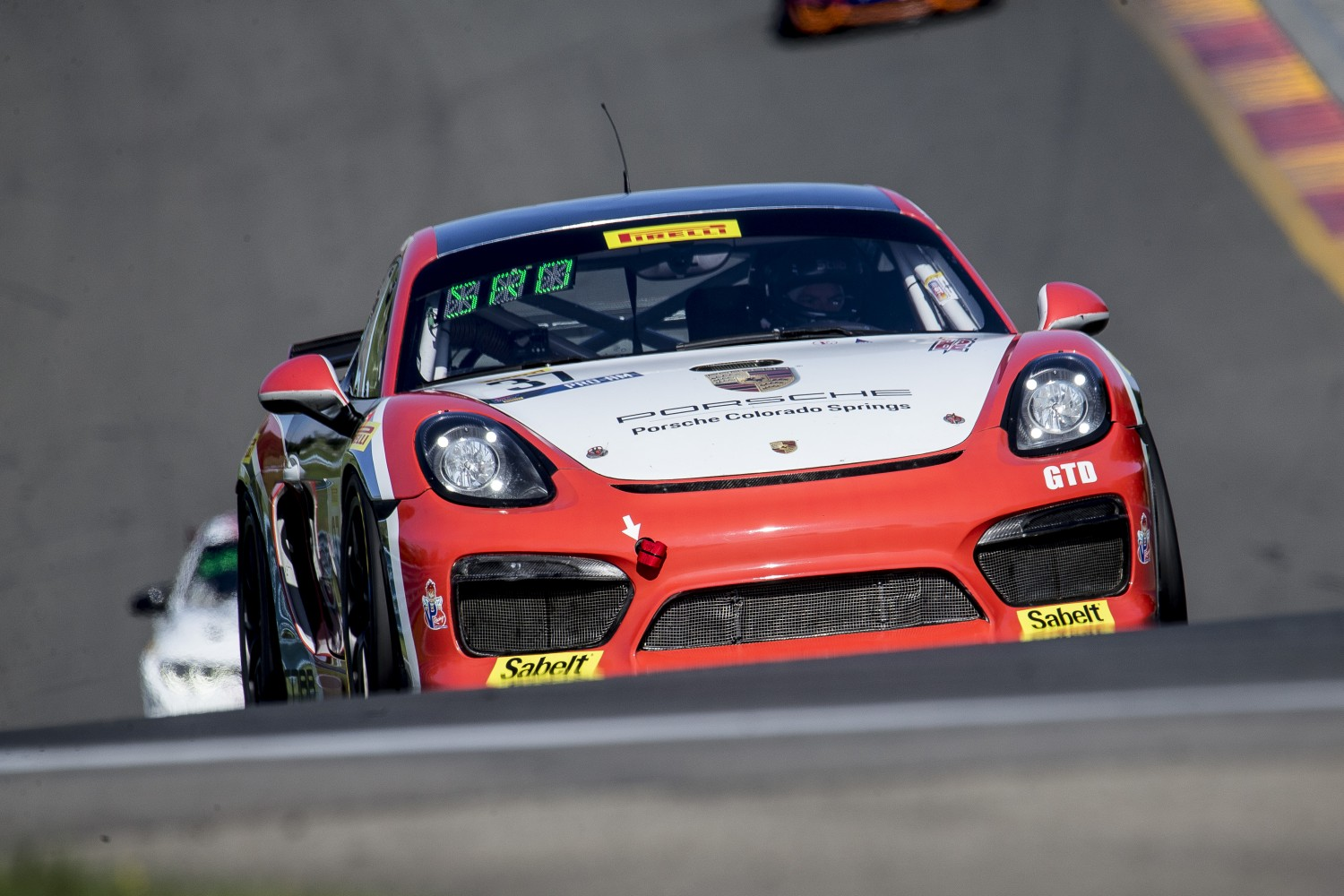 #37 Porsche Cayman GT4 CS-MR of Charlie Bellaurdo and Jan Heylen, RS1, Watkins Glen World Challenge America, Watkins Glen NY  | Brian Cleary/SRO