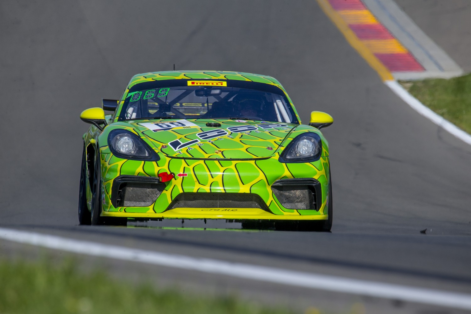 #69 Porsche Cayman GT4 CS-MR of Thomas Collingwood and John Tecce, BGB Motorsports Group, Watkins Glen World Challenge America, Watkins Glen NY  | Brian Cleary/SRO