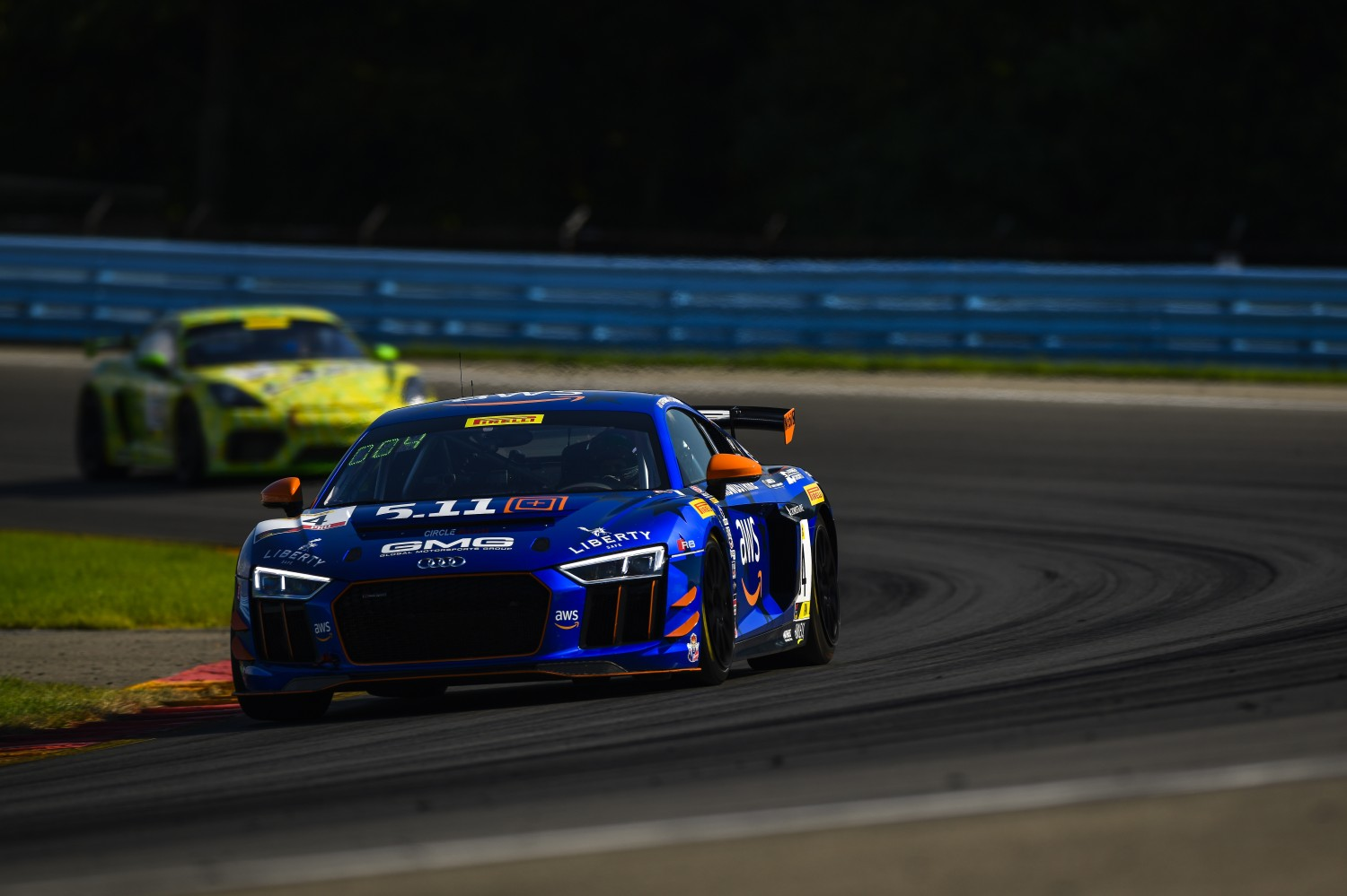 #04 Audi R8 LMS GT4 of CJ Moses and James Sofronas, AndrettiGMG Racing, Watkins Glen World Challenge America, Watkins Glen NY  | SRO Motorsports Group