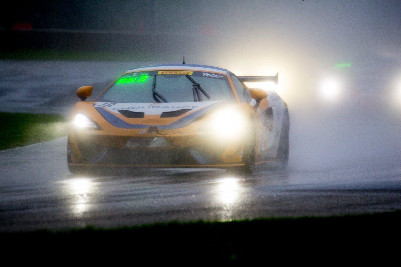 #18 McLaren 570S GT4, Jarett Andretti, Andretti Autosport, SRO Pirelli GT4 America, Road America, September 2019.