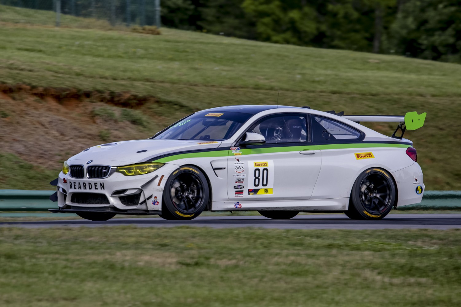 #80 BMW M4 GT4  of Dmitri Novikov    VIRginia International Raceway, Alton VA                                                   | Brian Cleary/SRO