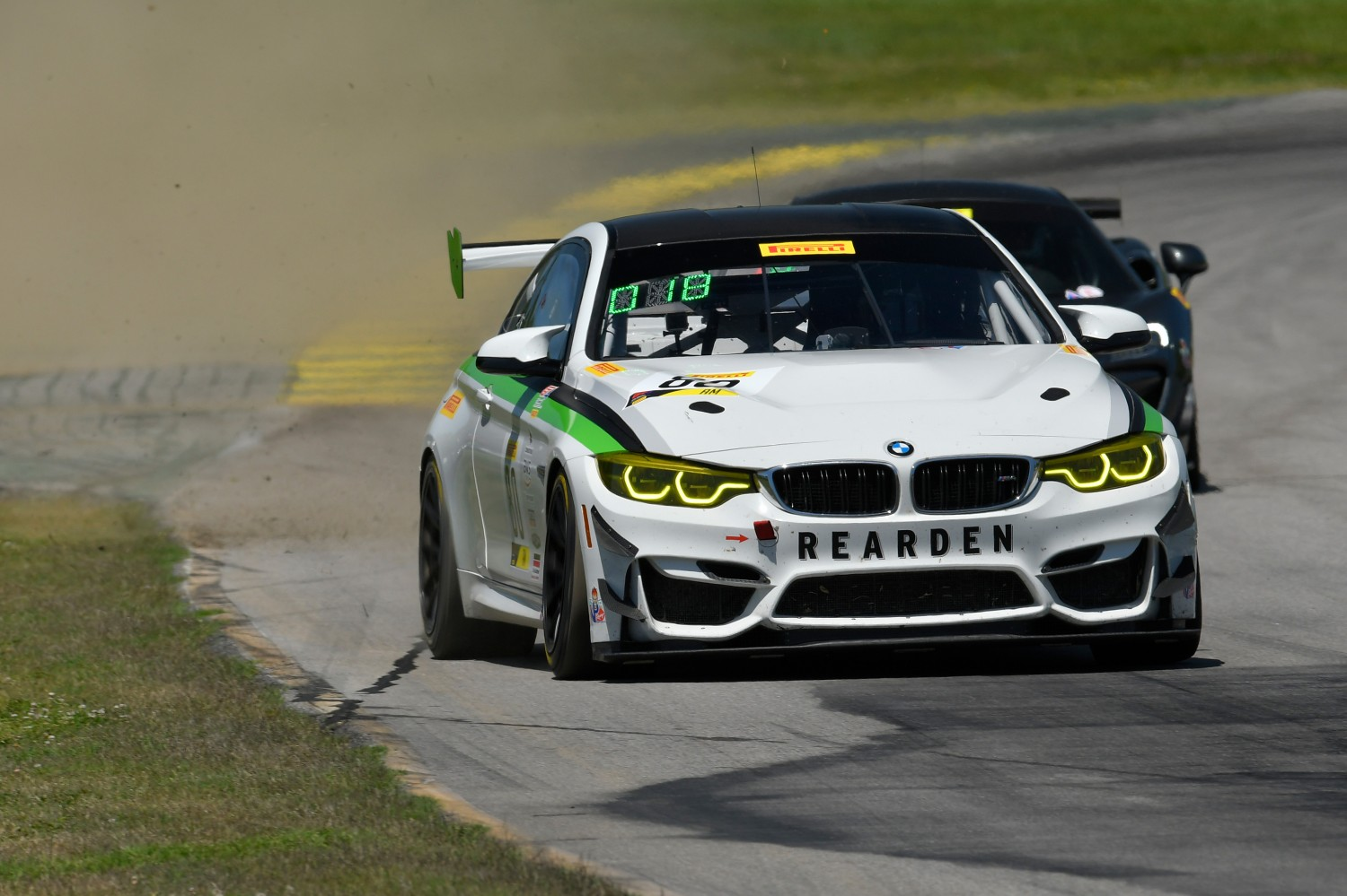 #80 BMW M4 GT4  of Dmitri Novikov    VIRginia International Raceway, Alton VA | Gavin Baker/SRO