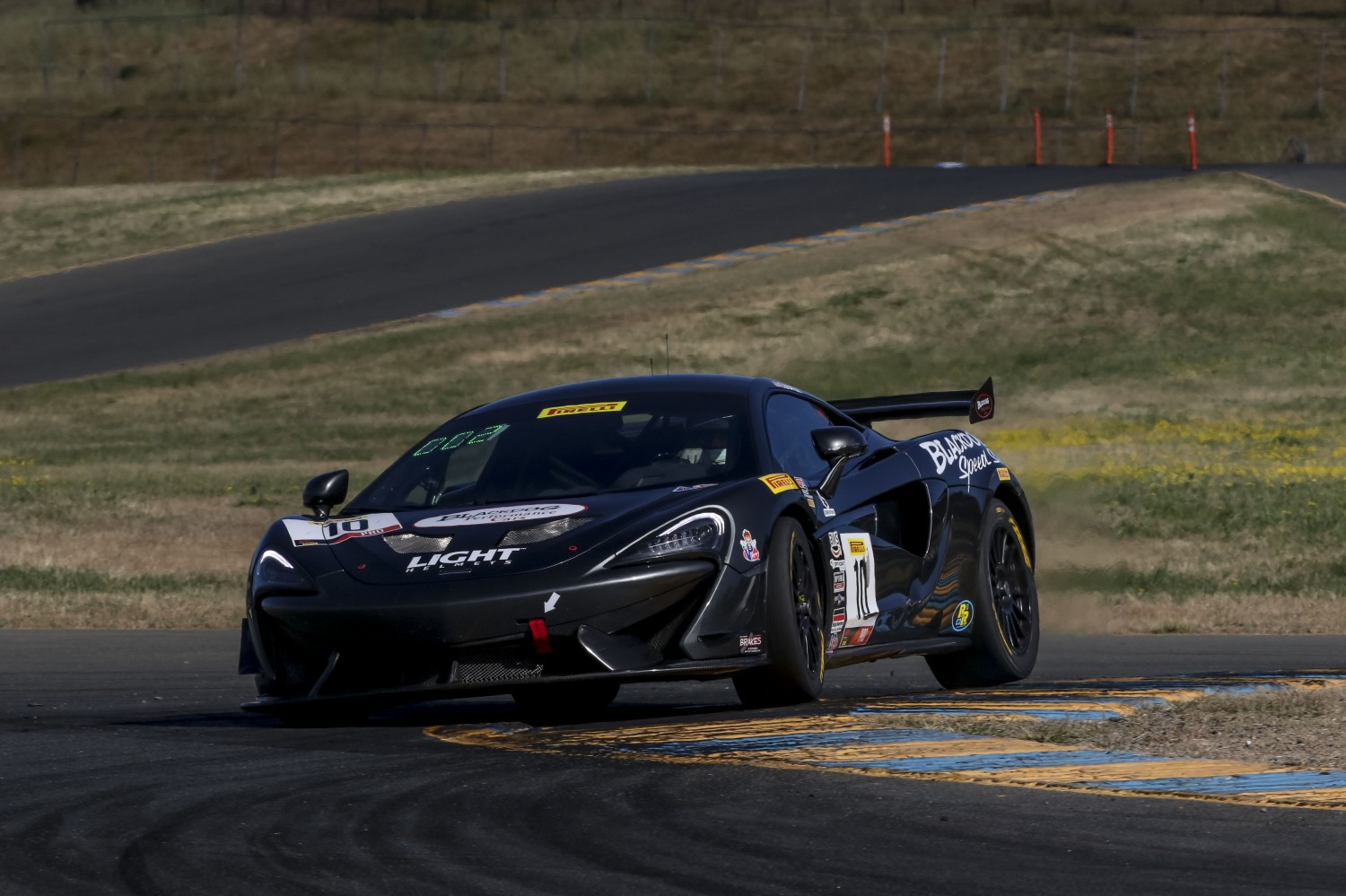 #10, Blackdog Speed Shop, McLaren 570S GT4, Michael Cooper, \g10#7\, SRO at Sonoma Raceway, Sonoma CA  | Brian Cleary/SRO