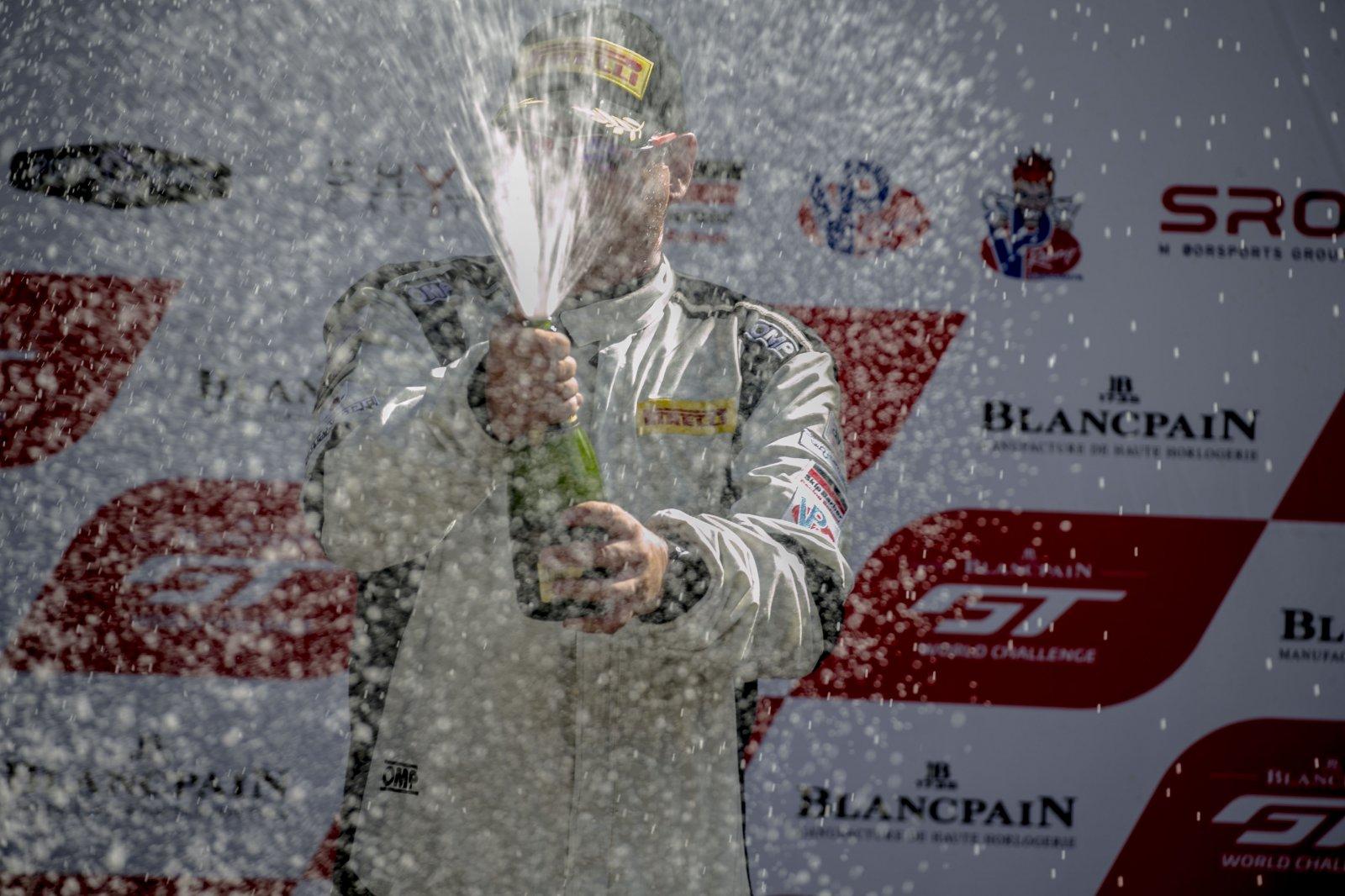 champagne  SRO at Sonoma Raceway, Sonoma CA