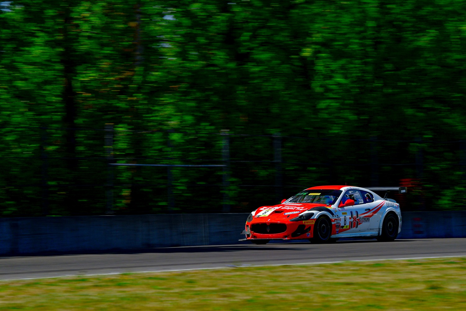#8 Maserati Grand Turismo MC GT4 of Michael McAleenan and Jerold Lowe   Rose Cup Races, Portland OR | Gavin Baker/SRO