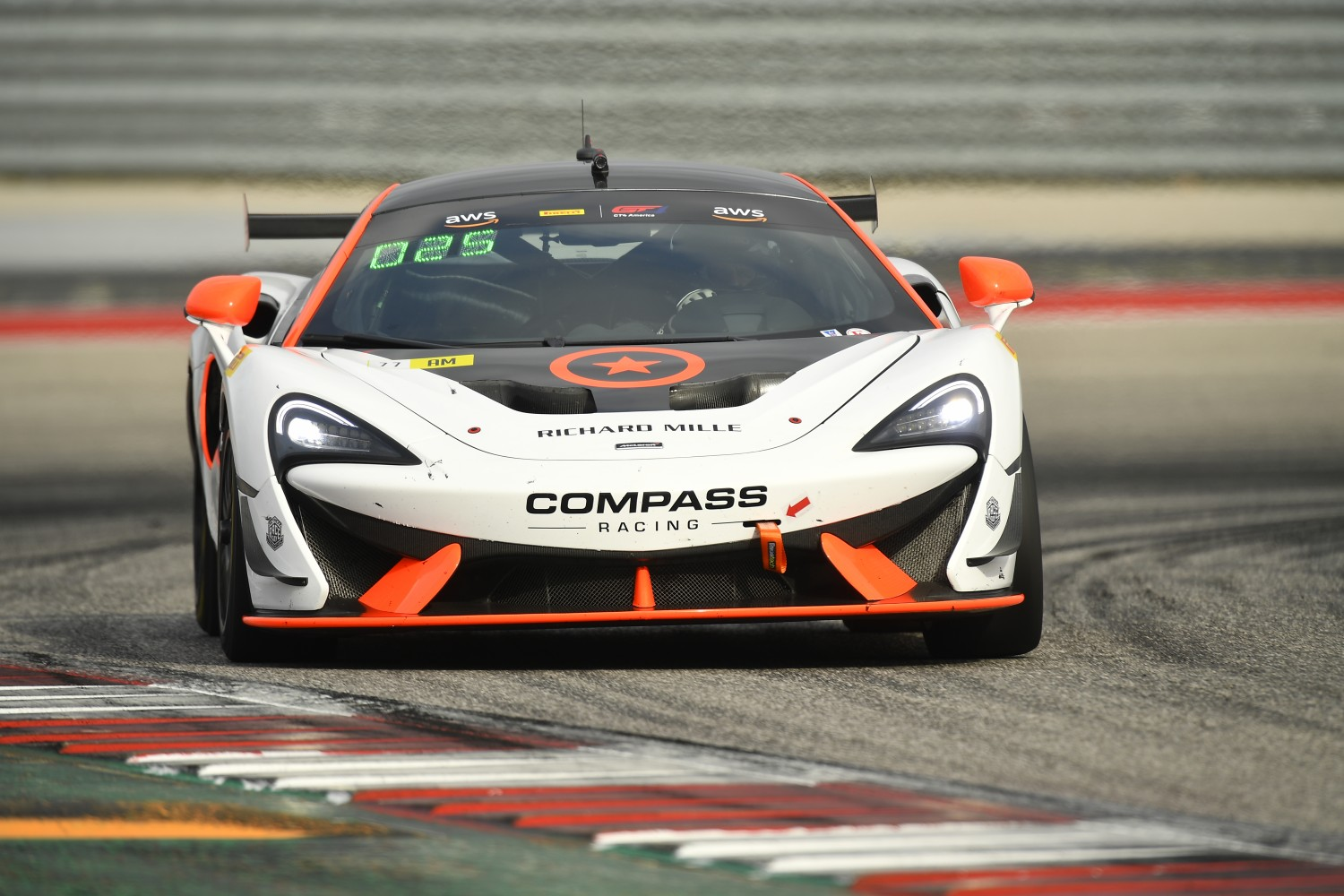 #77 GT4 SprintX, Am, Compass Racing, Anthony Geraci, Richard Golinello, McLaren 570s GT4, 2020 SRO Motorsports Group - Circuit of the Americas, Austin TX  | SRO Motorsports Group