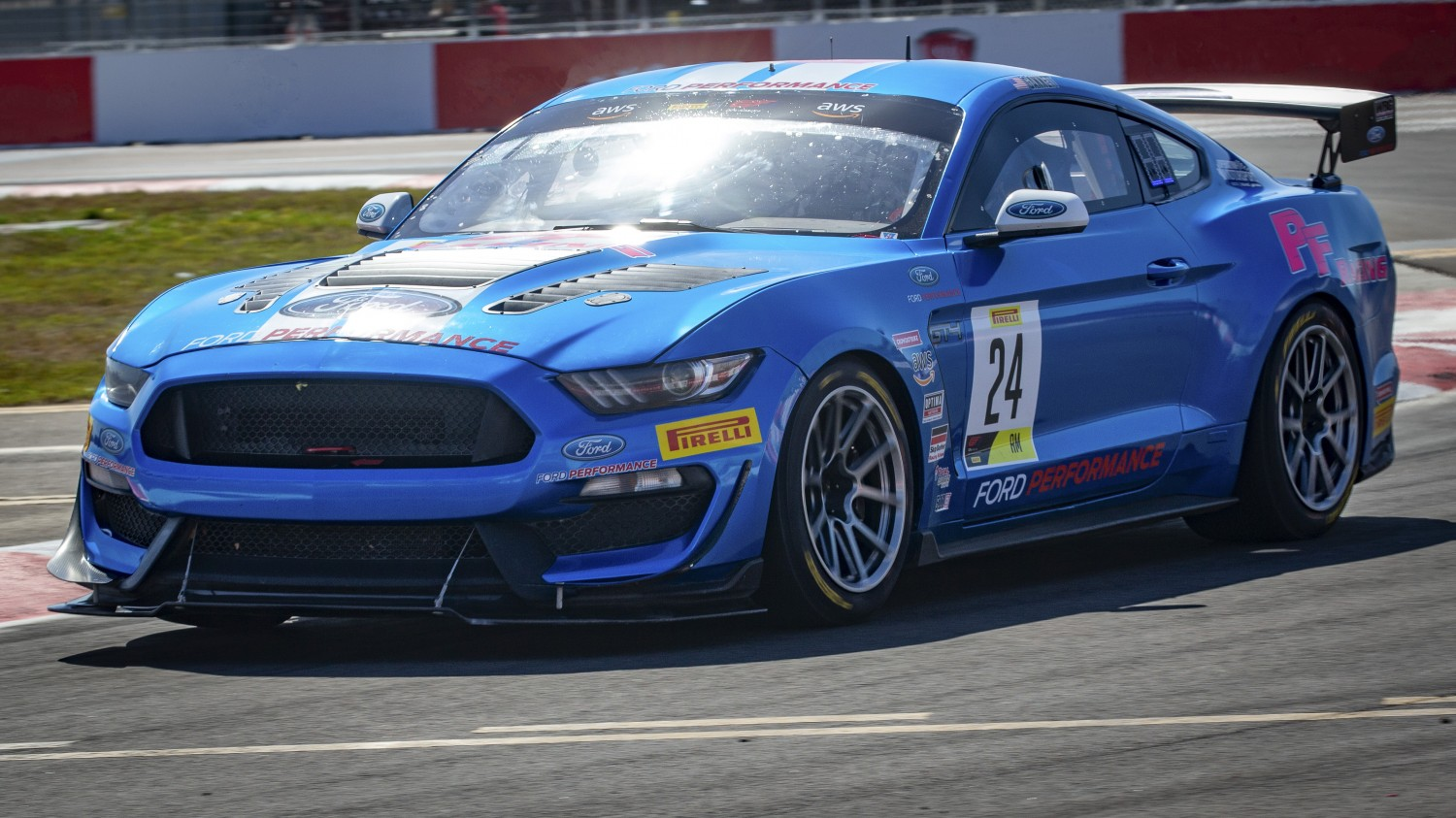 #24 GT4 Sprint, Am, Ian Lacy Racing, Frank Gannett, Ford Mustang GT4 SRO Motorsports Group America, St. Pete Grand Prix, St. Petersburg, FL, March 2020