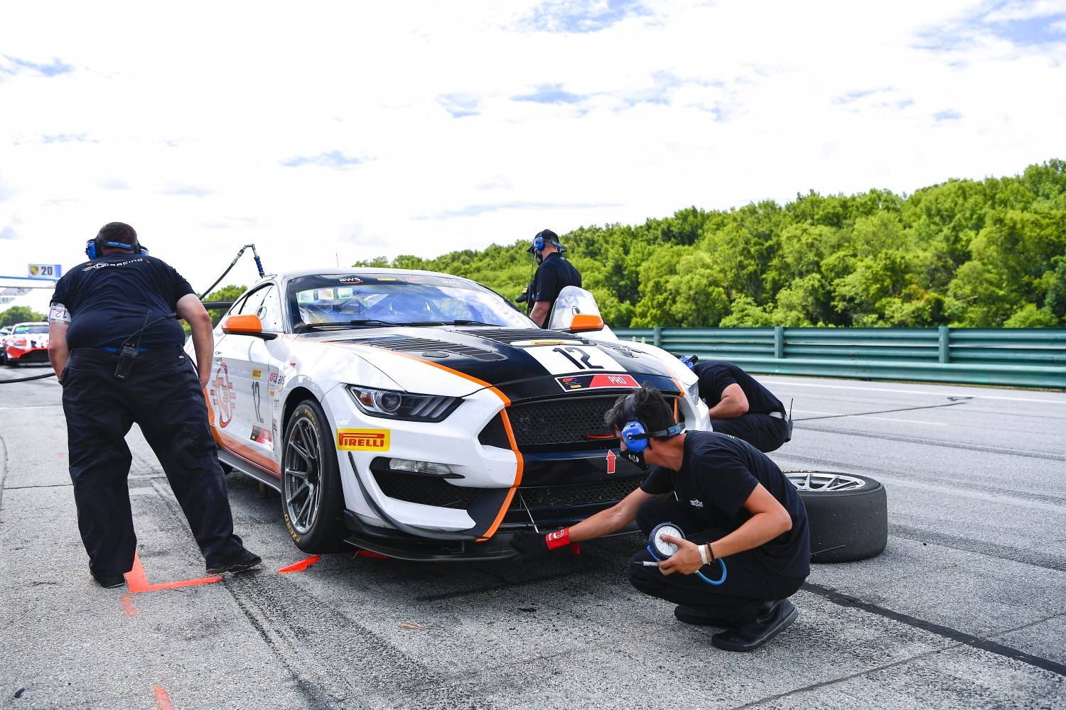 #12 GT4 Sprint, Ian Lacy Racing, Drew Staveley, Ford Mustang GT4, 2020 SRO Motorsports Group - VIRginia International Raceway, Alton VA  | SRO Motorsports Group