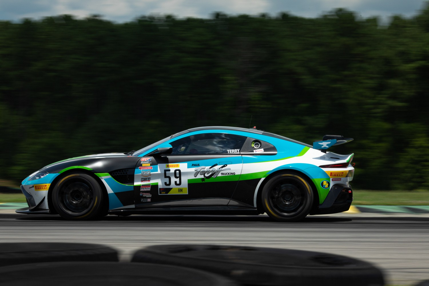 #59 GT4 Sprint, Am, Rearden Racing, Paul Terry, Aston Martin Vantage GT4\, SRO VIR 2020, Alton VA  |